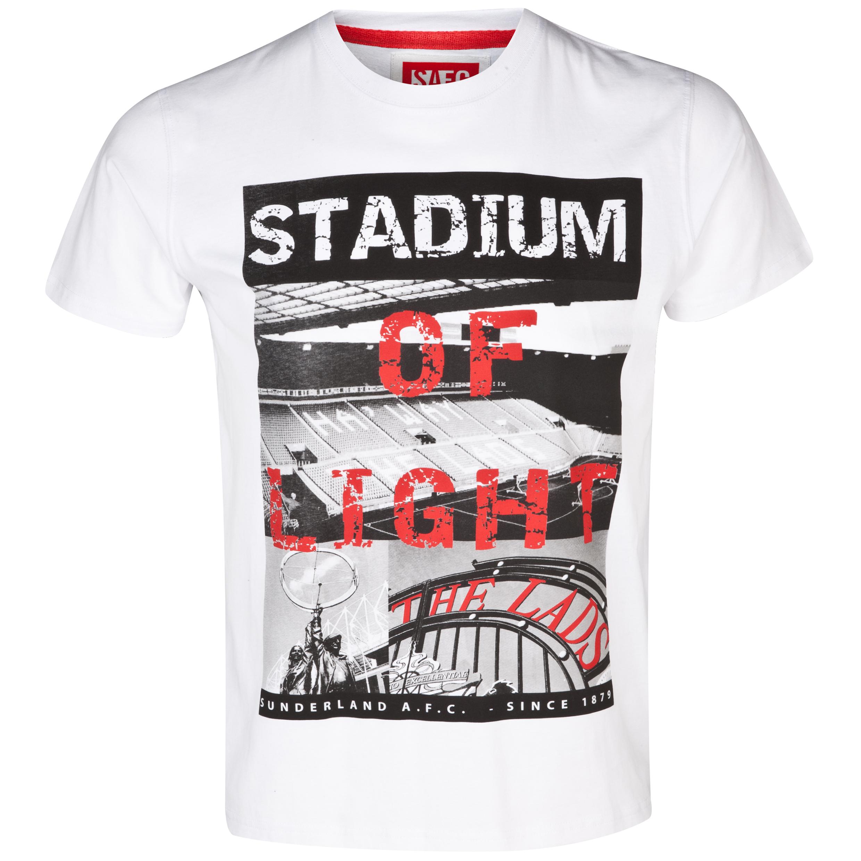 Sunderland Foyle T-Shirt - Mens White