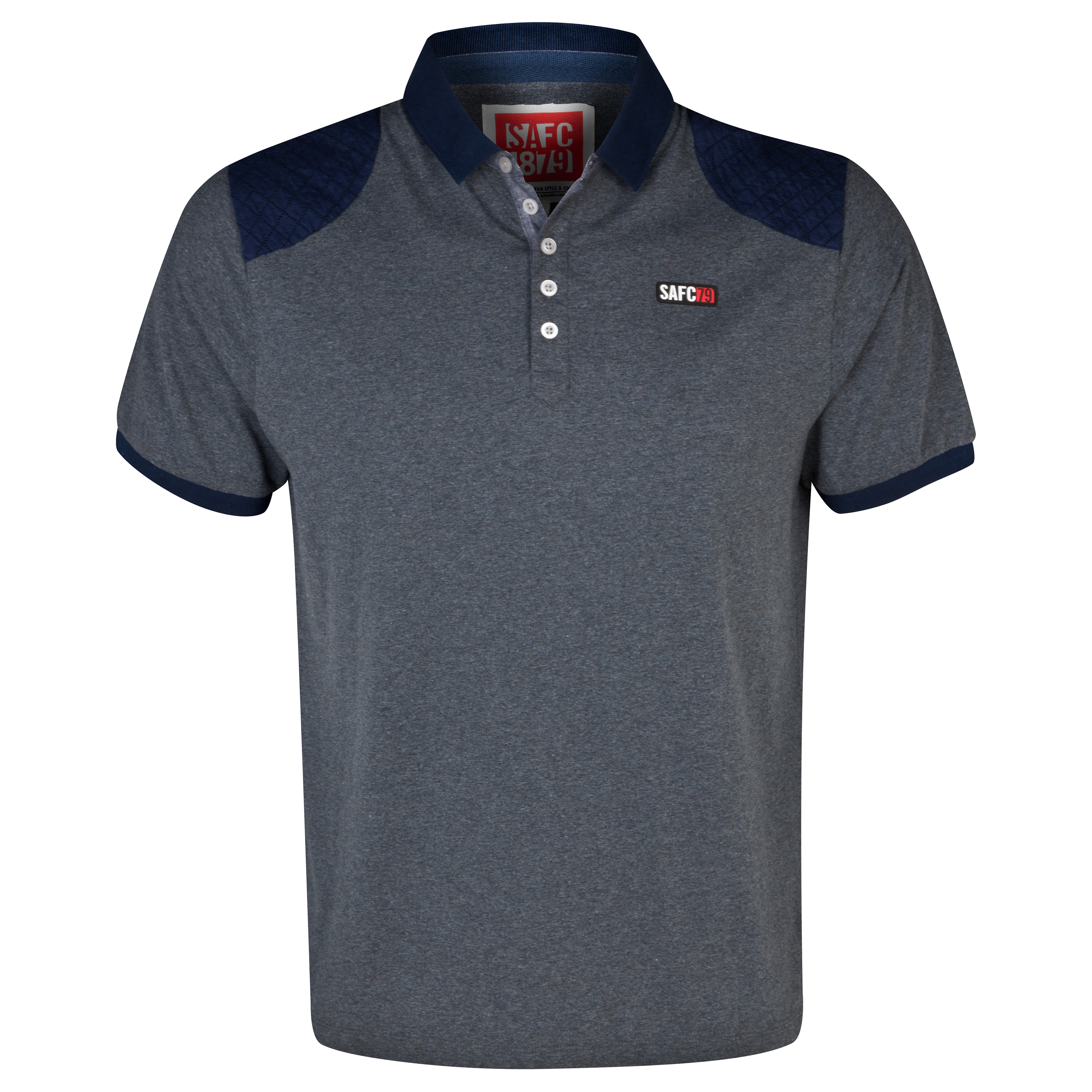 Sunderland Carn Polo Shirt - Mens Navy