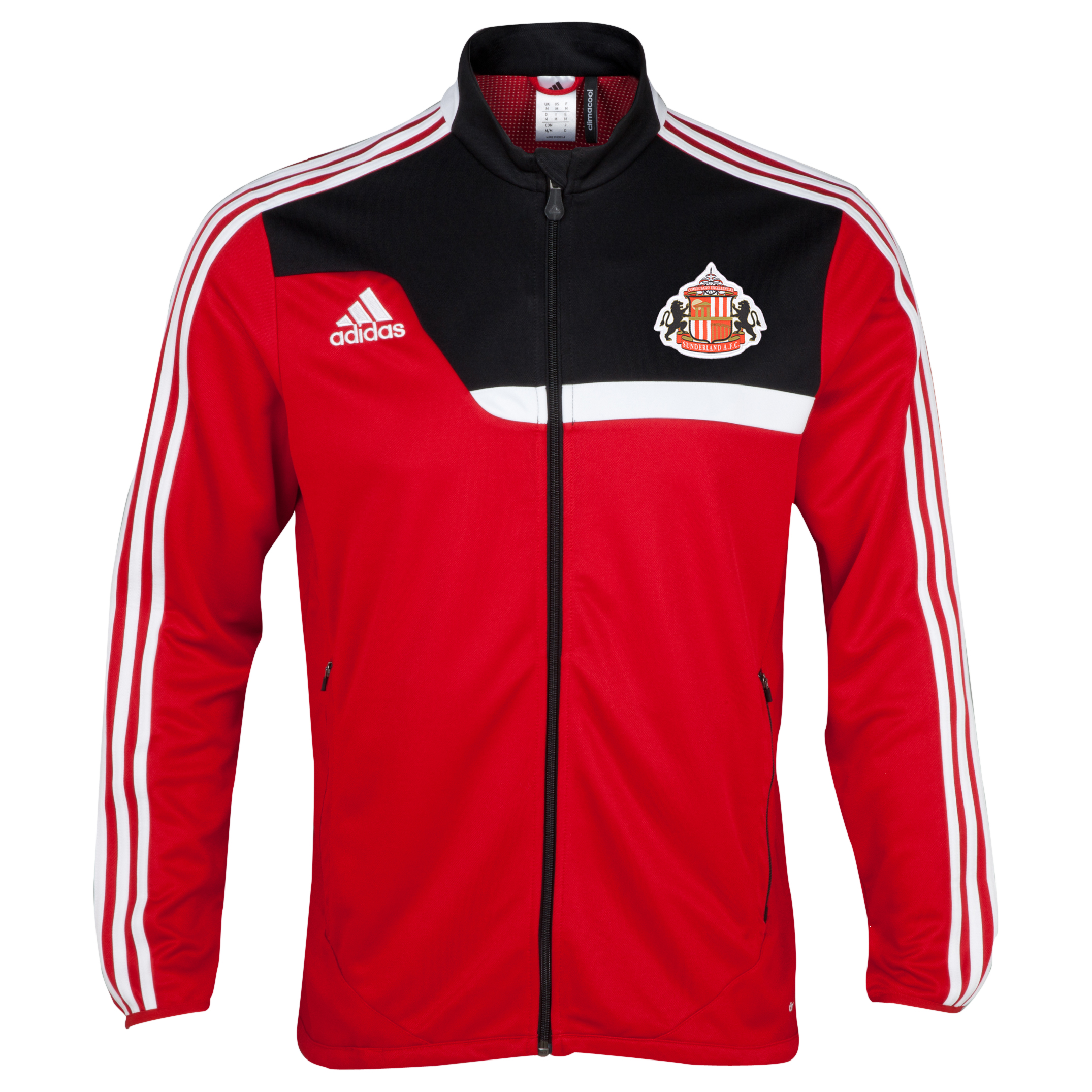 Sunderland Tiro Training Jacket Red