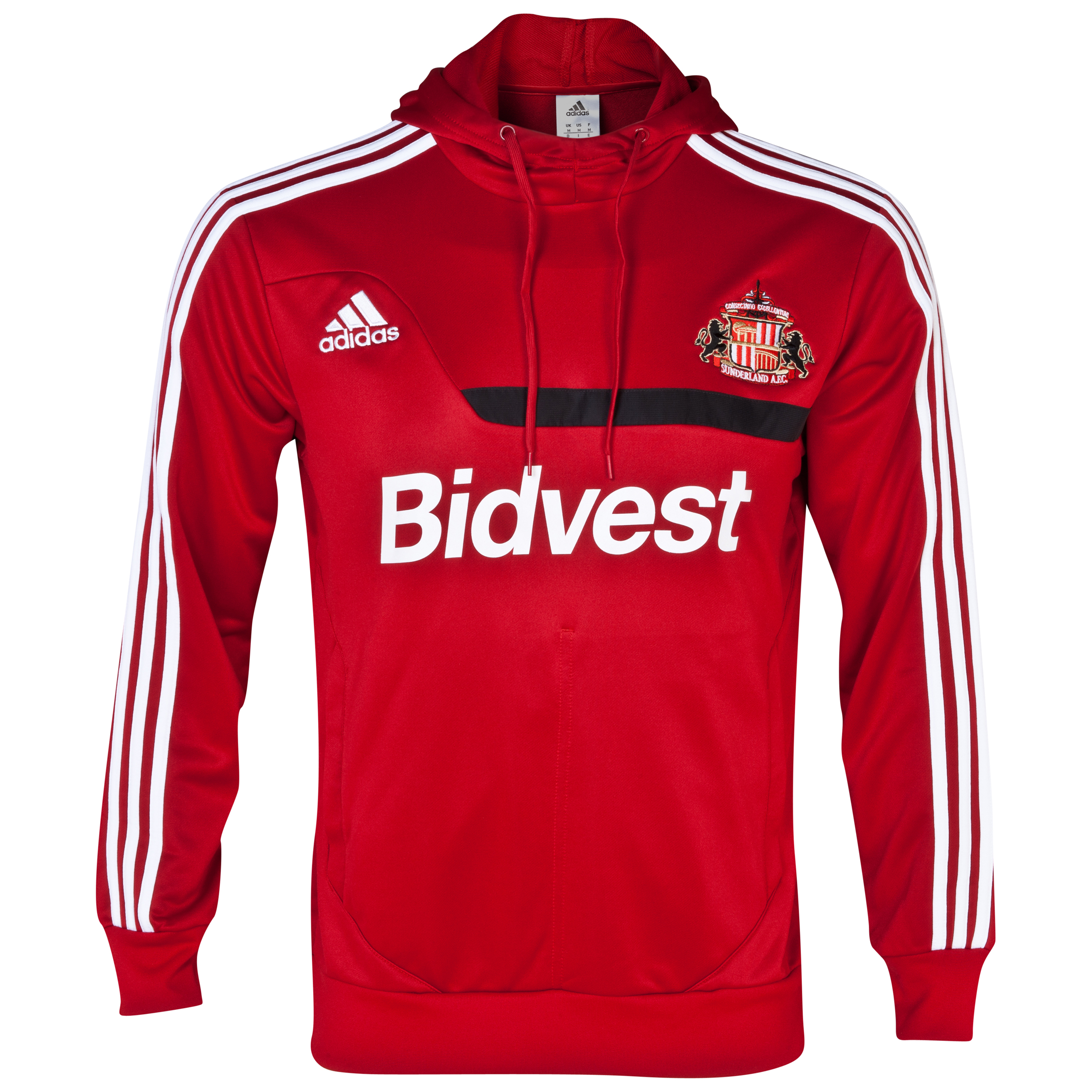 Sunderland Tiro Training Hoody Red