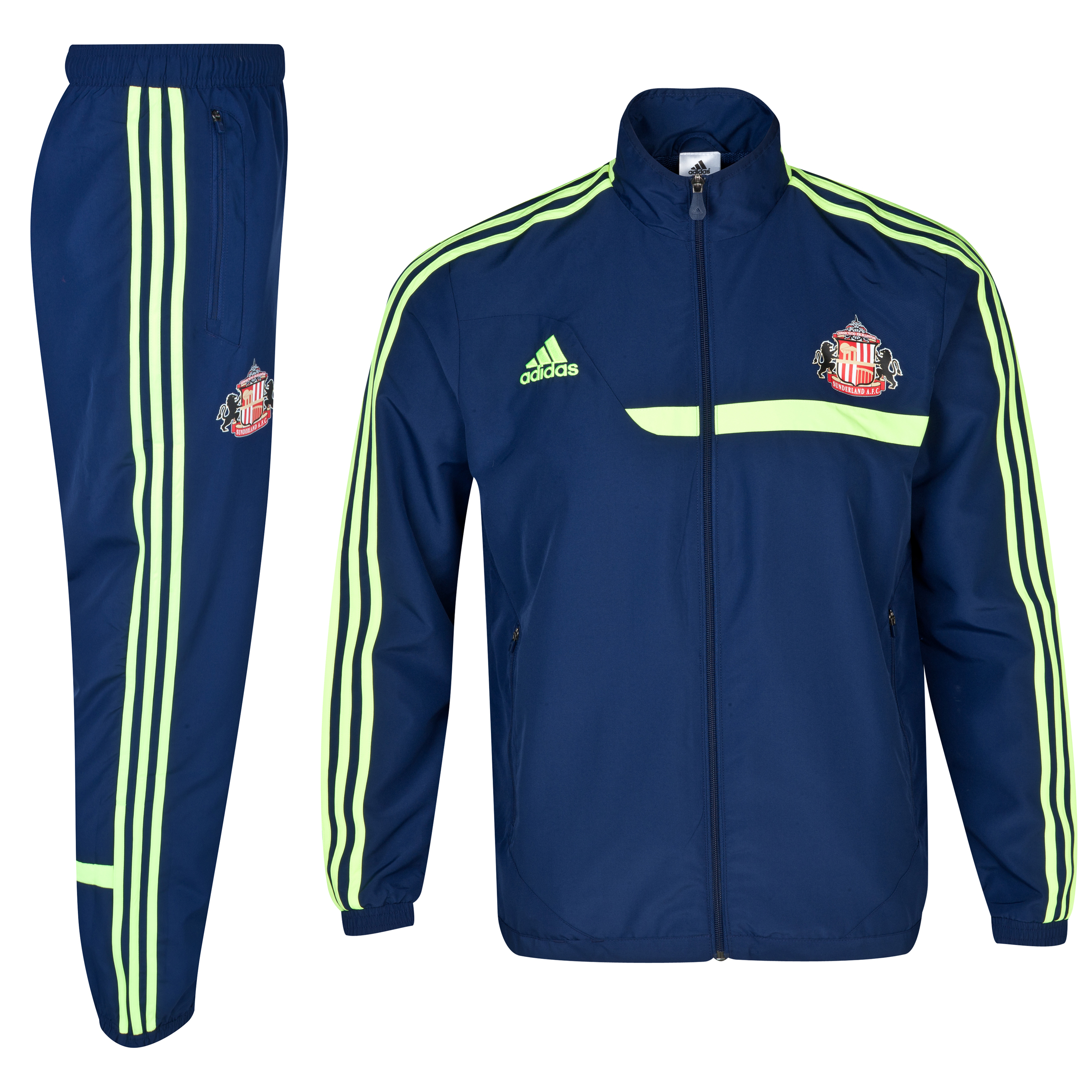 Sunderland Tiro Training Presentation Suit Navy