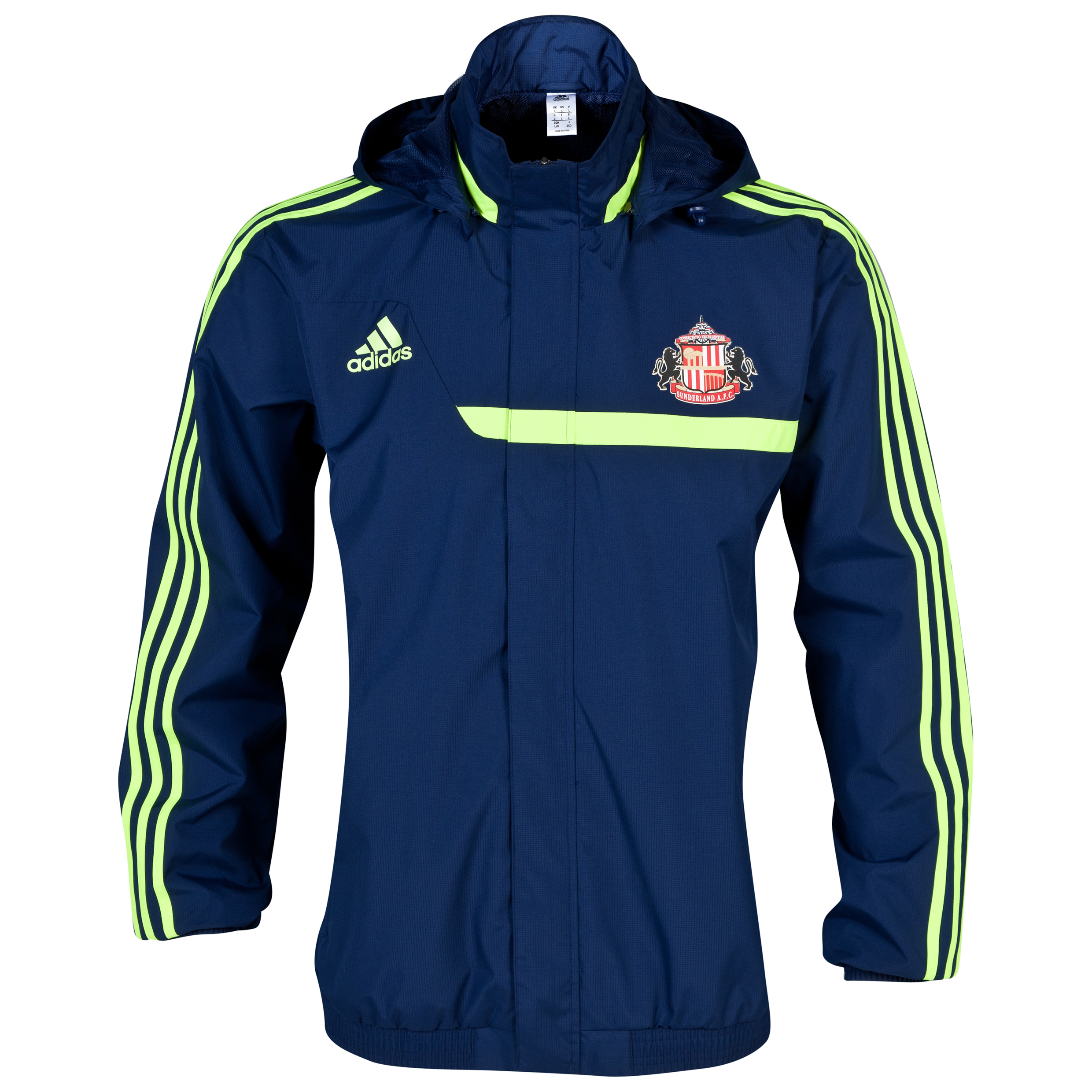 Sunderland Tiro Training All Weather Jacket Navy