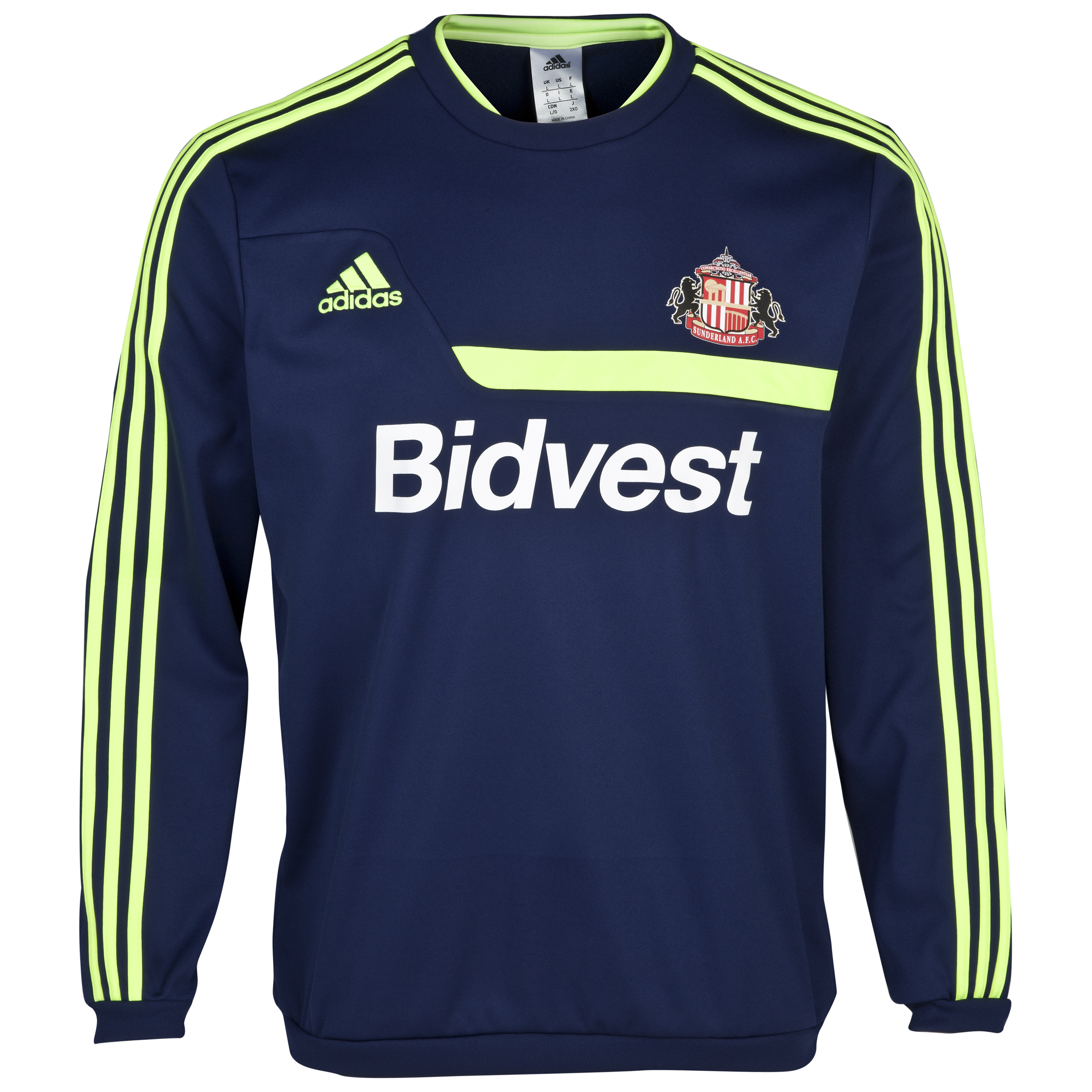 Sunderland Tiro Training Sweat Top - Junior Navy