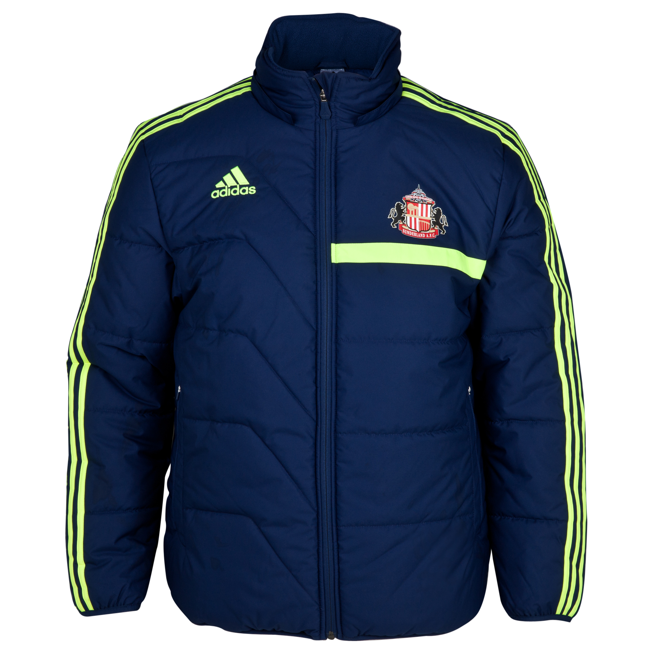 Sunderland Tiro Training Padded Jacket Navy