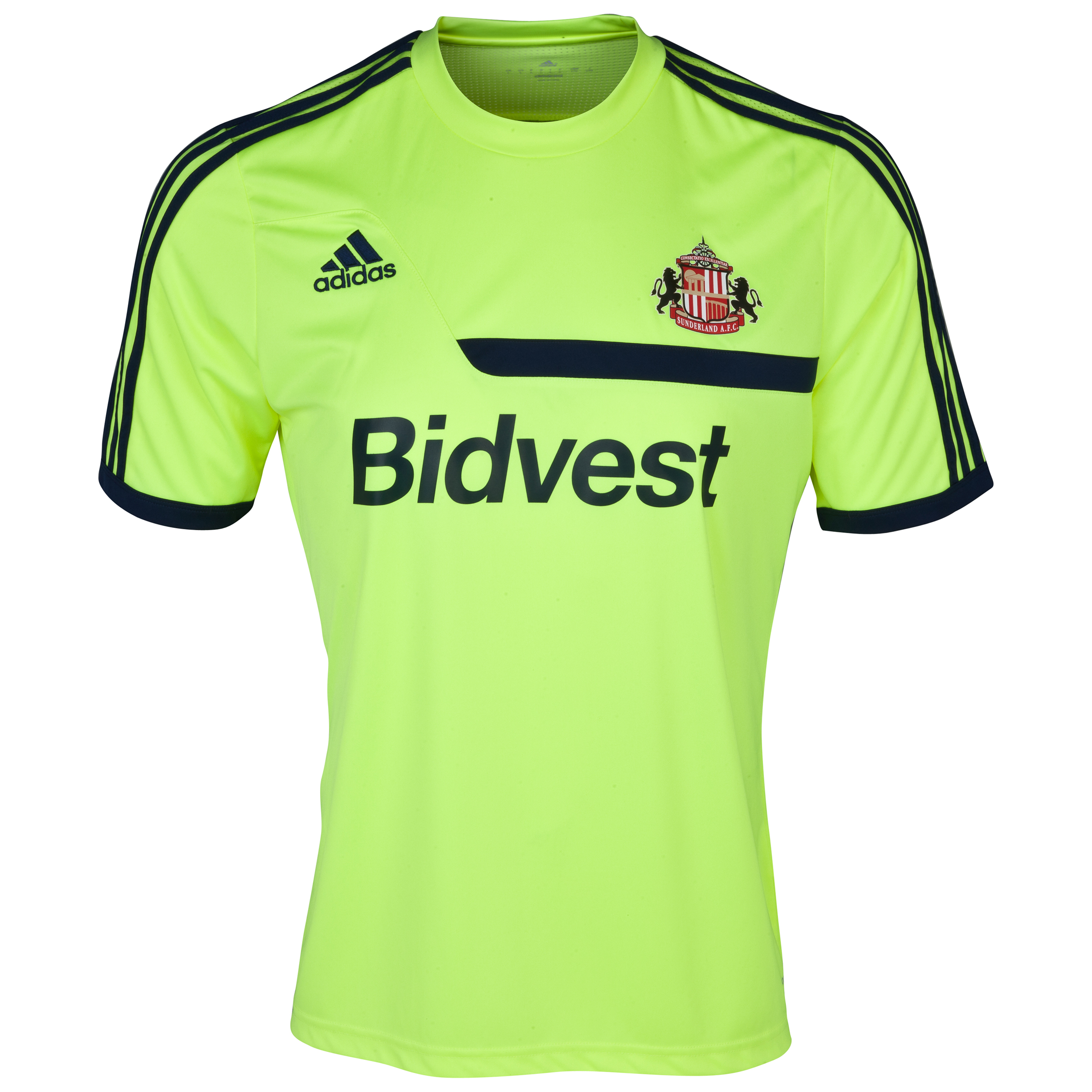 Sunderland Tiro Training Jersey - Electricity Yellow/ Blue