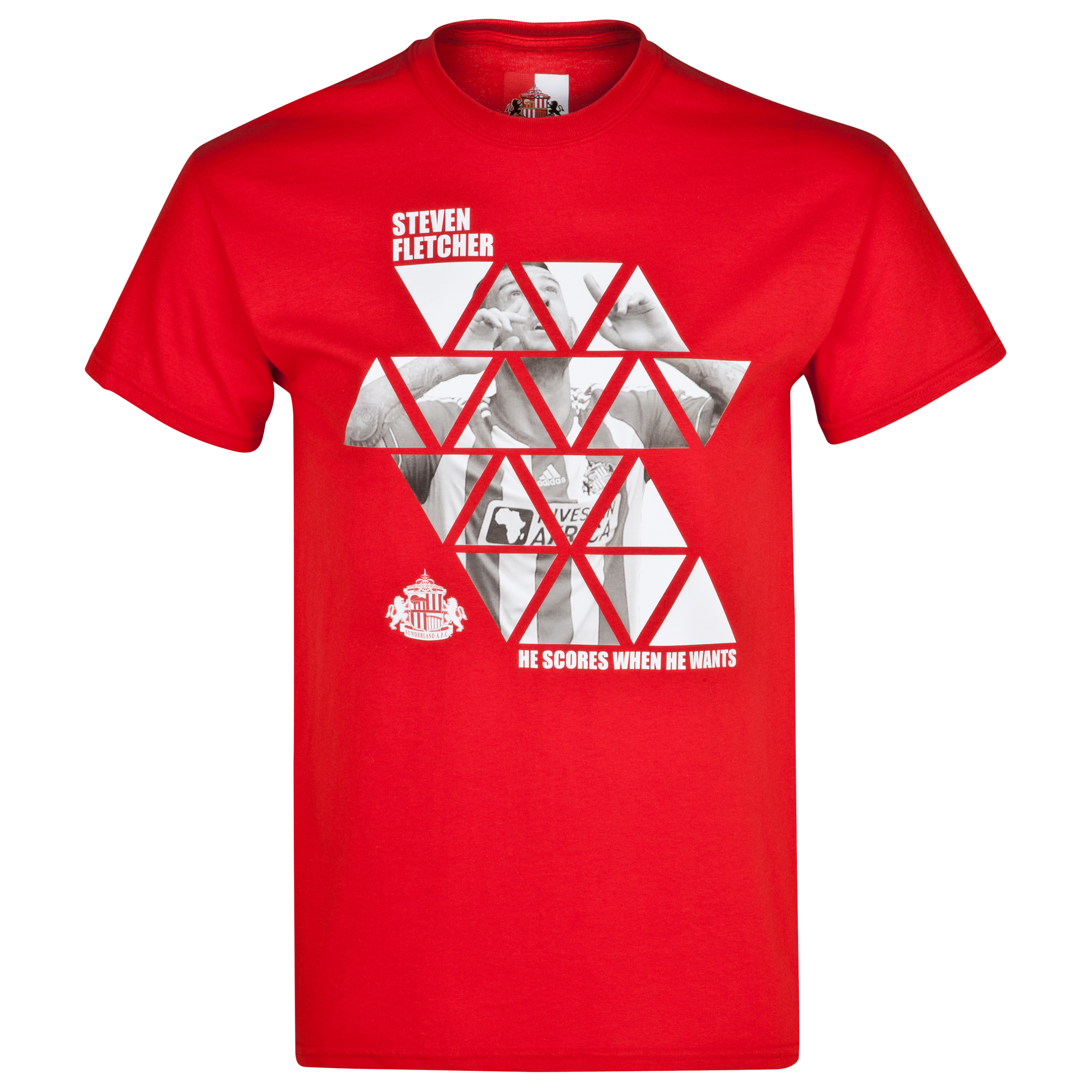 Sunderland 2for20 Fletcher T-Shirt - Mens Red