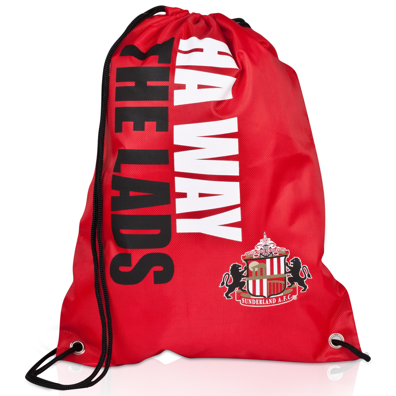 Sunderland Slogan Gymbag