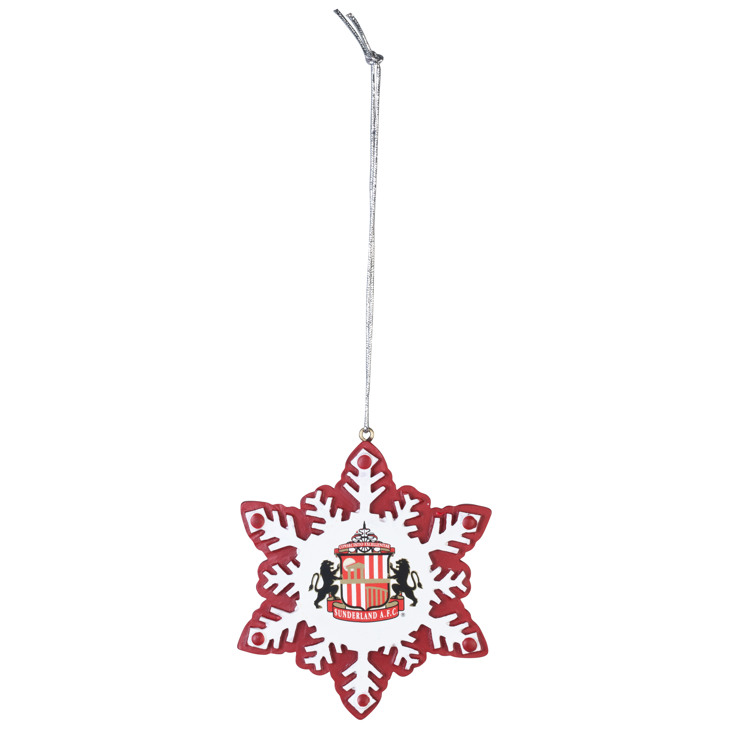 Sunderland Resin Snowflake Ornament