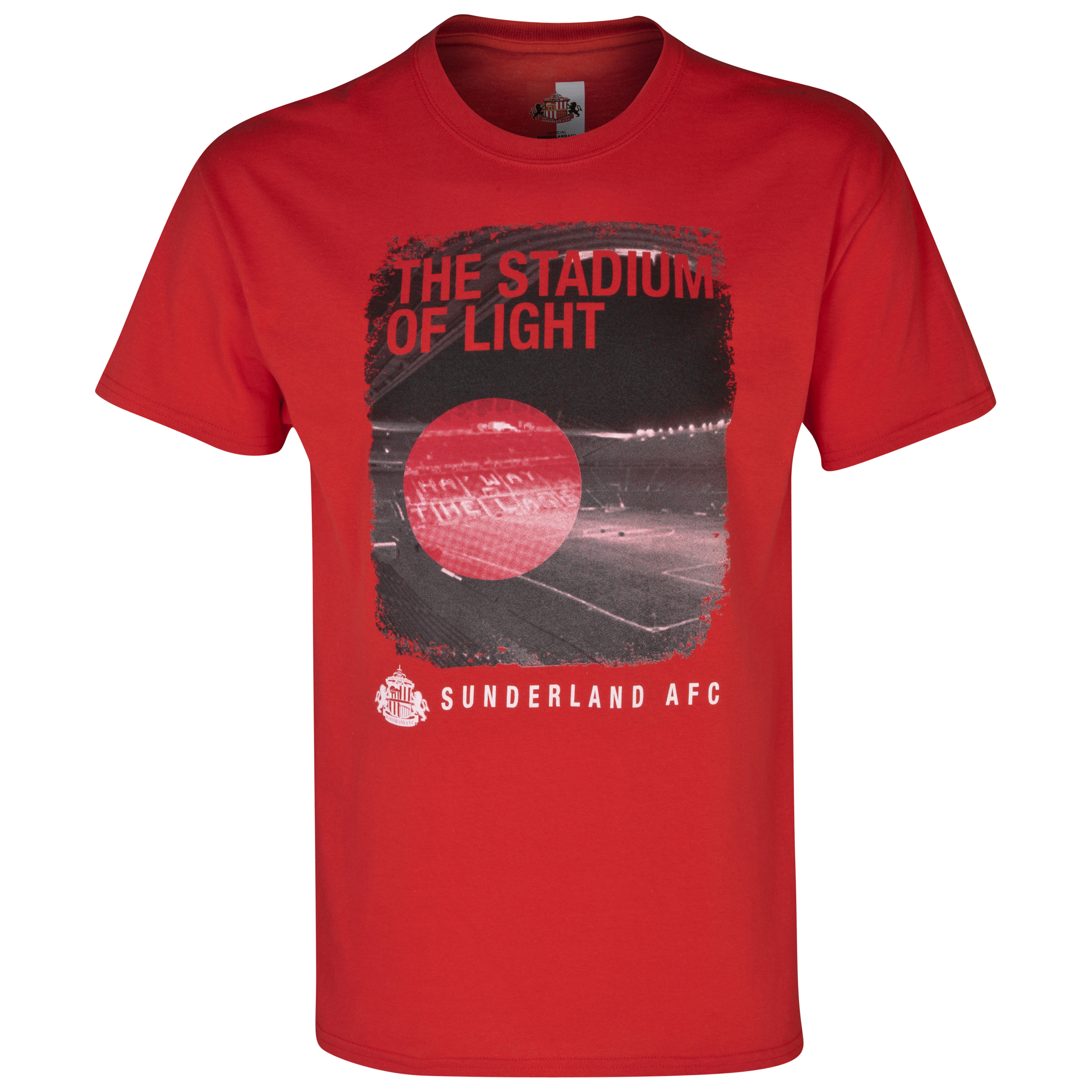 Sunderland 2 For 20 Stadium T-Shirt - Mens Red