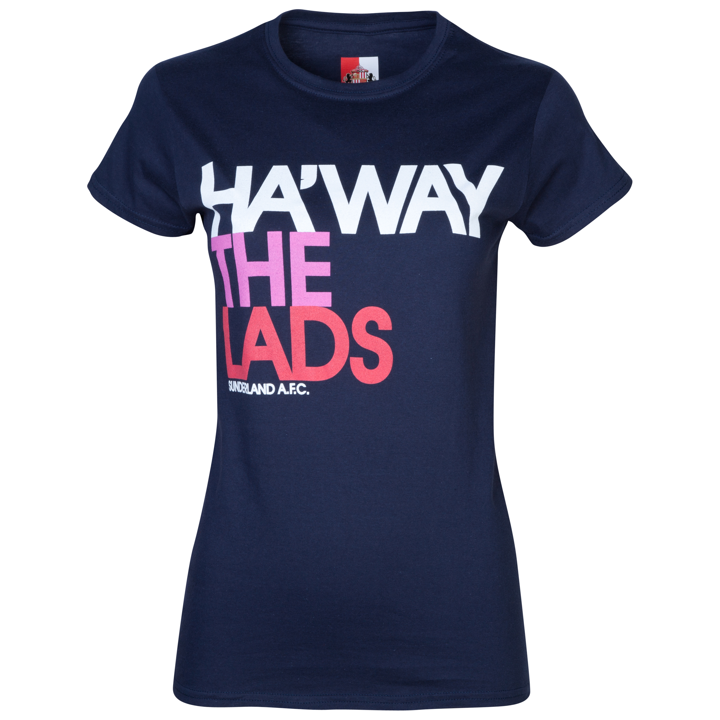 Sunderland 2 For 20 Lads T-Shirt- Womens Navy