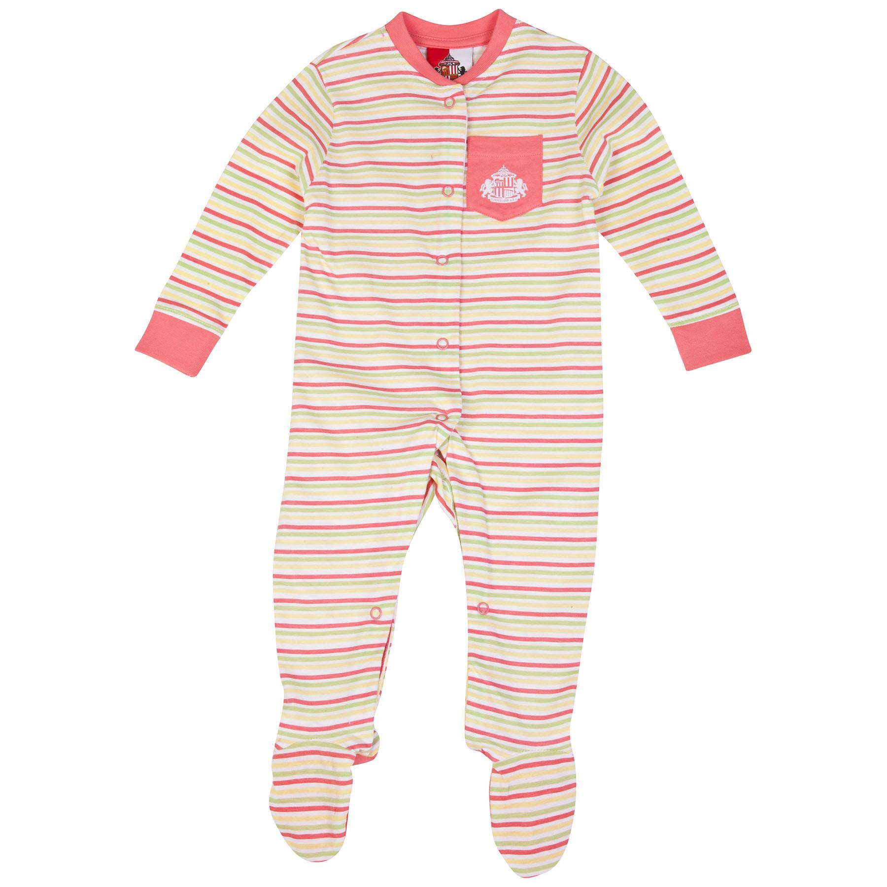 Sunderland Lila Sleepsuit-Baby Pink