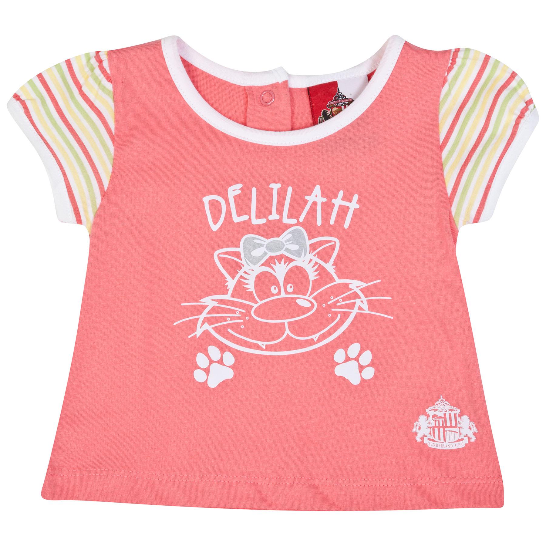 Sunderland Deli T-Shirt-Baby Pink