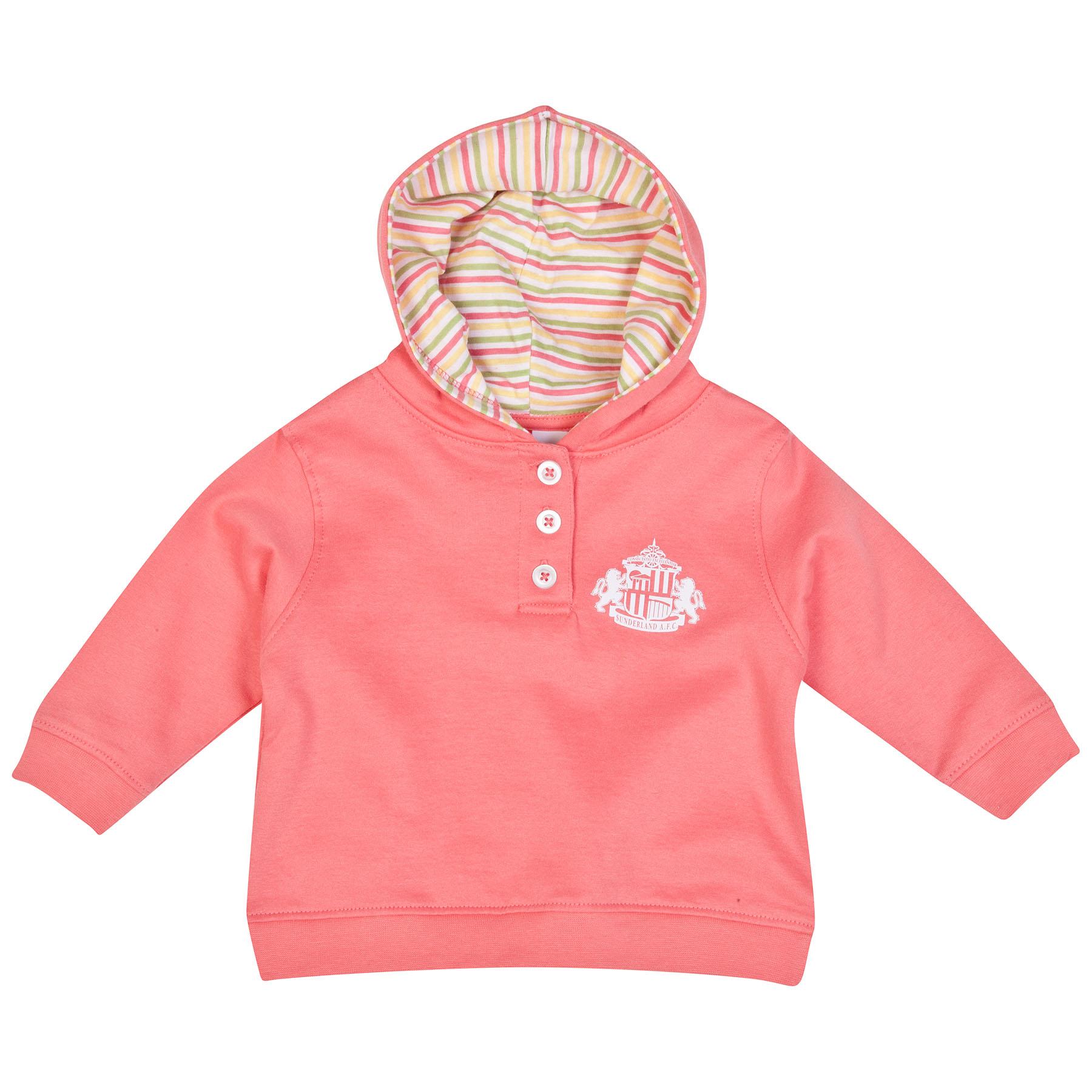 Sunderland Poppy Hoodie-Baby Pink