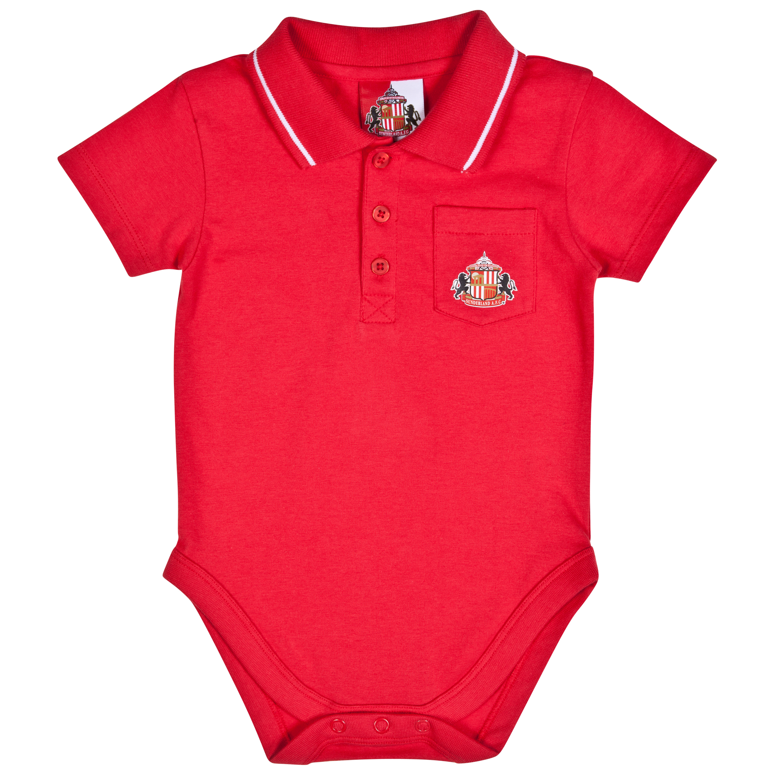 Sunderland Jake Bodysuit-Baby Red