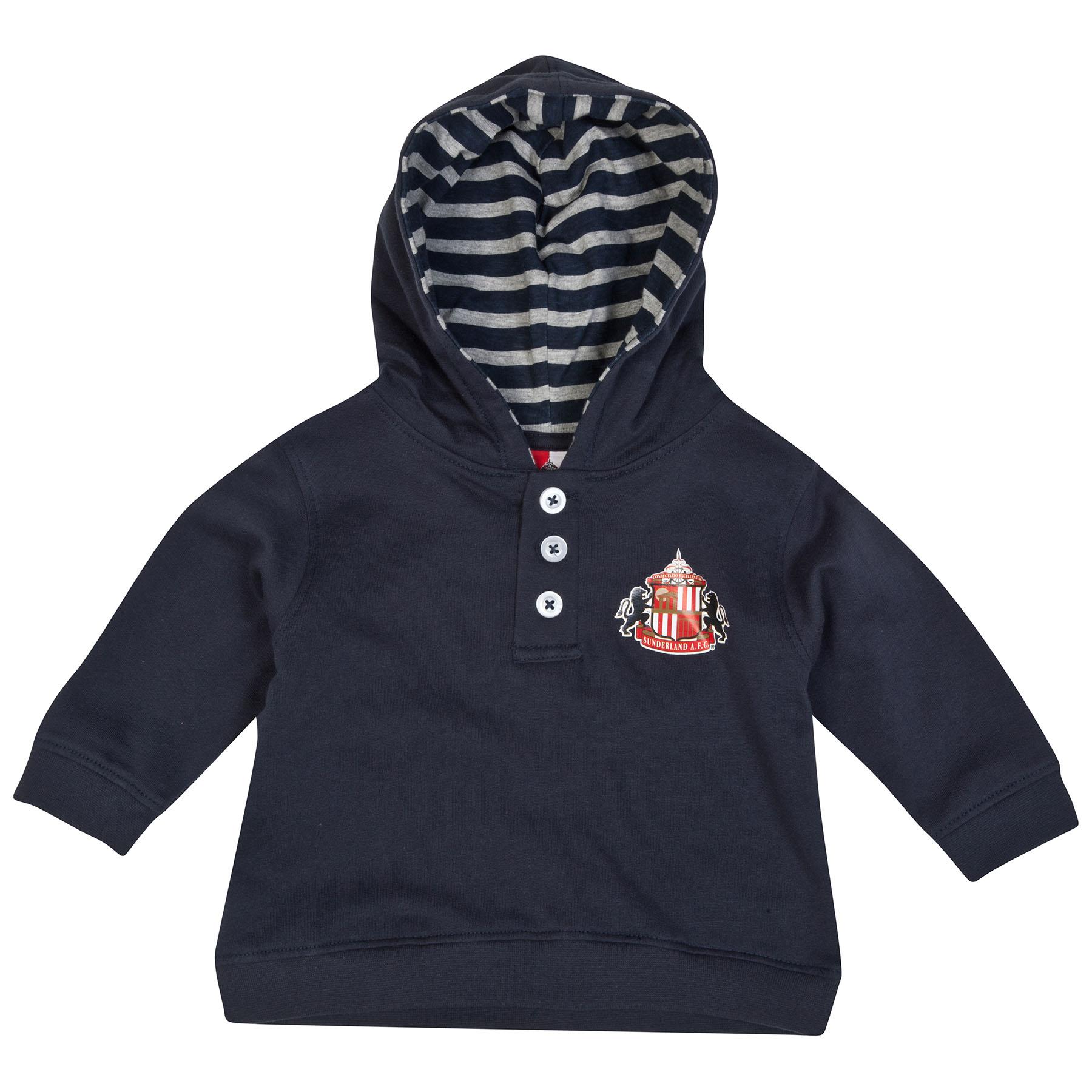 Sunderland Jonah Hoodie-Baby Navy