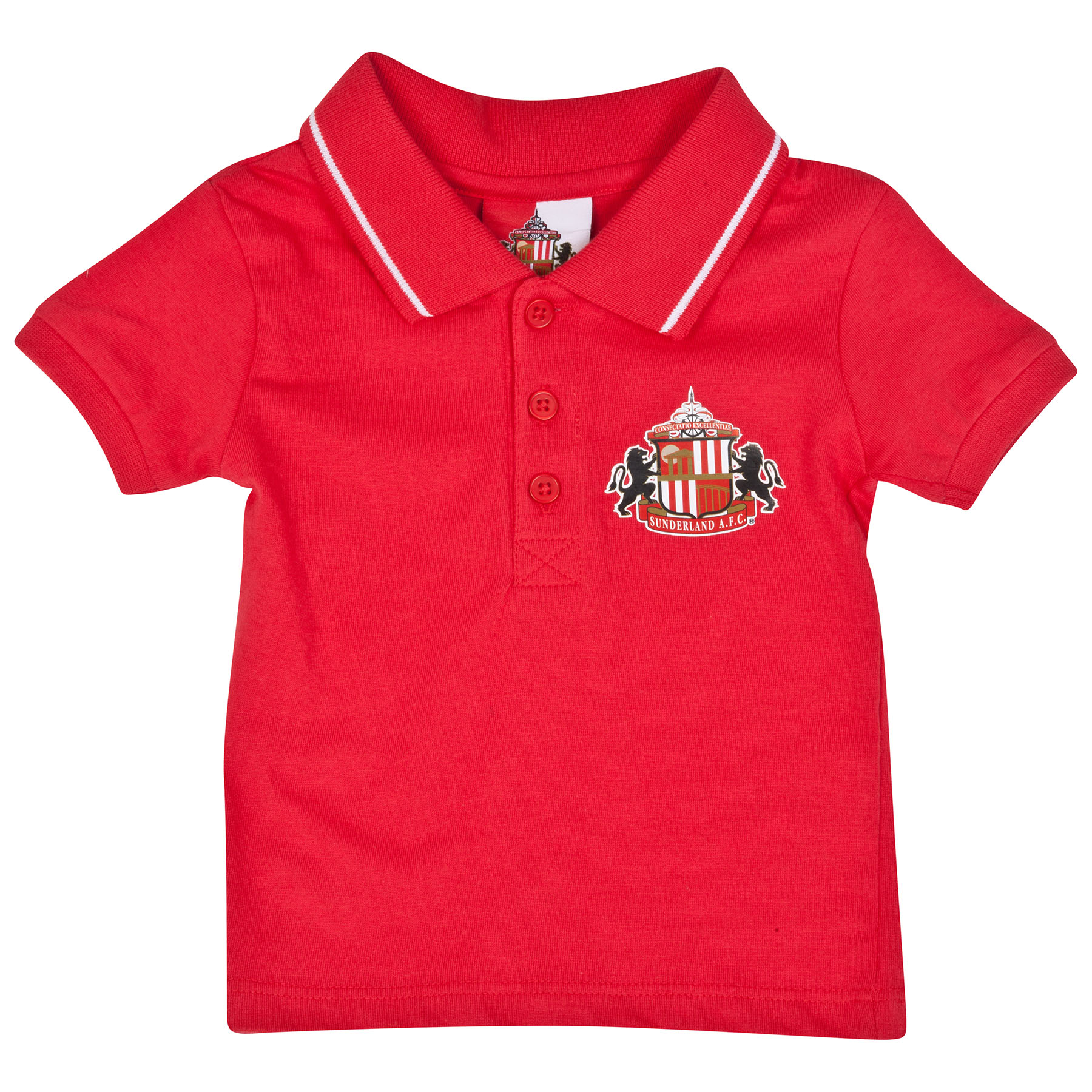 Sunderland Marco Polo Shirt-Baby Red
