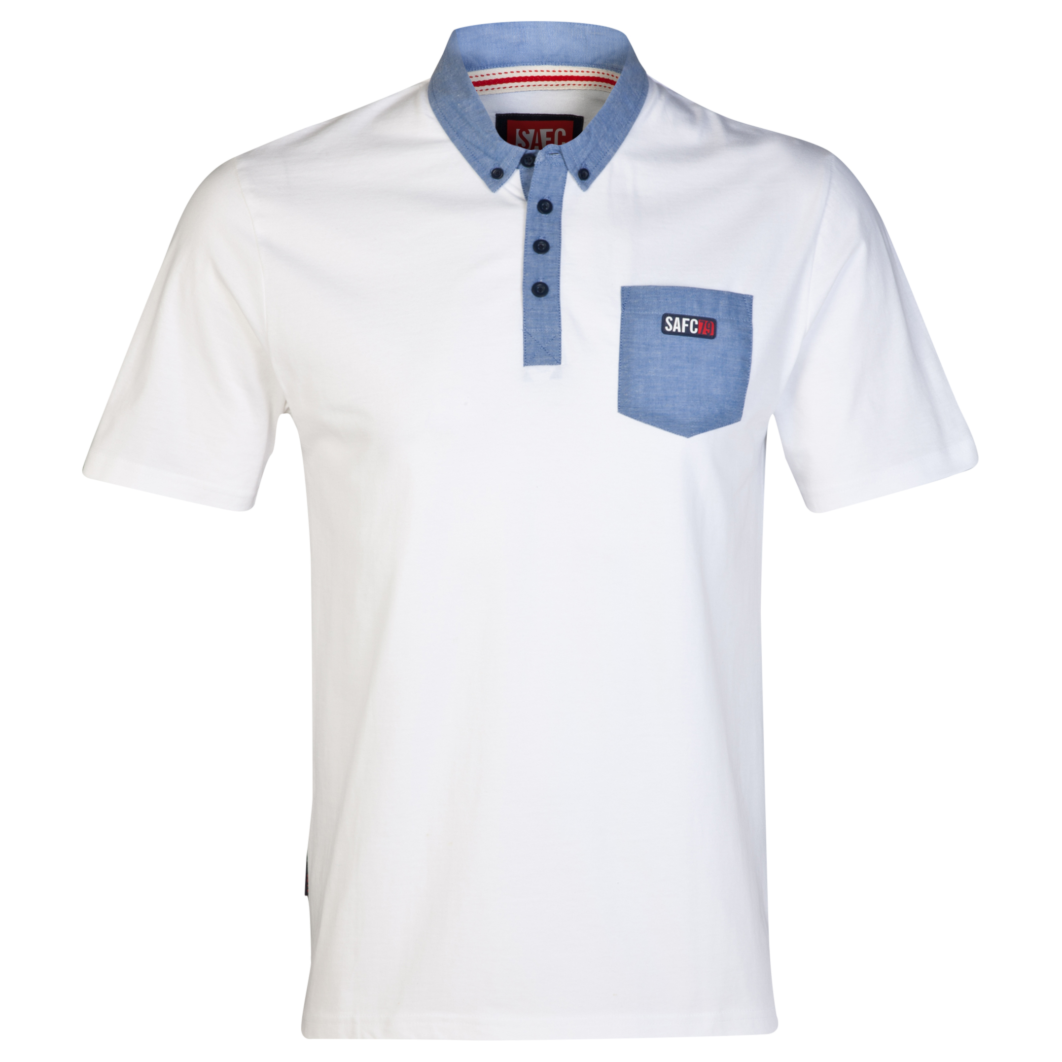 Sunderland Shore Polo Shirt- Mens White