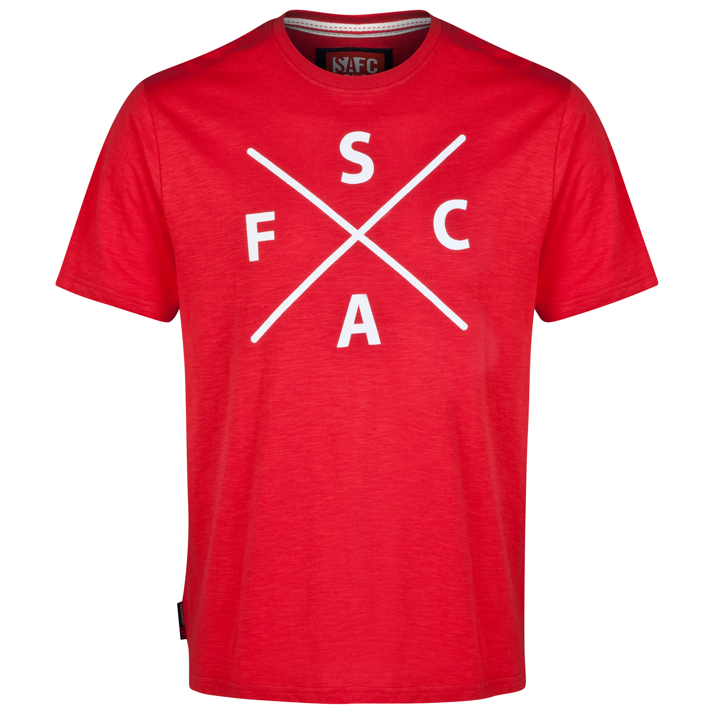 Sunderland Jacks T-Shirt-Mens Red