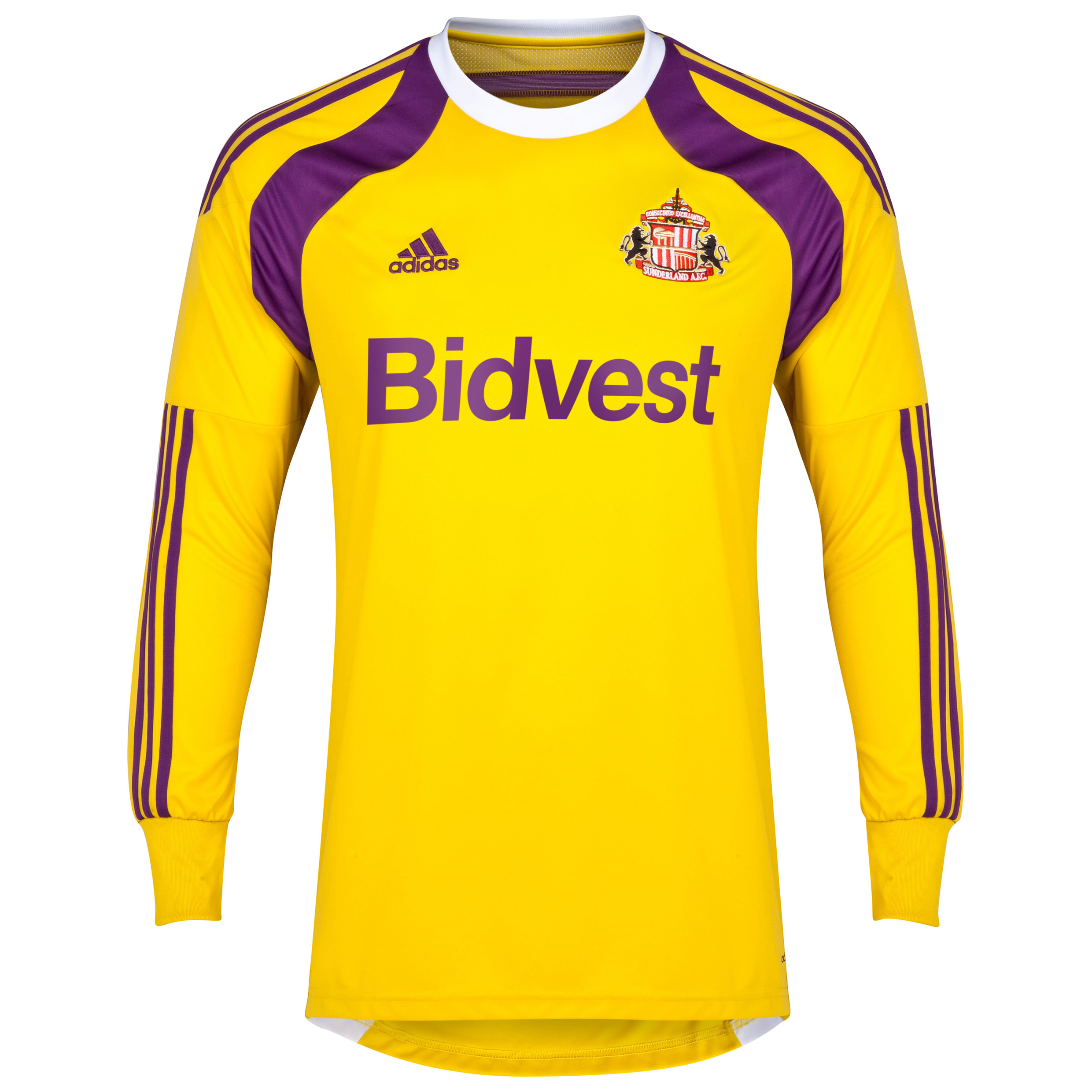 Sunderland Home GK Shirt 2014/15 - Junior Yellow