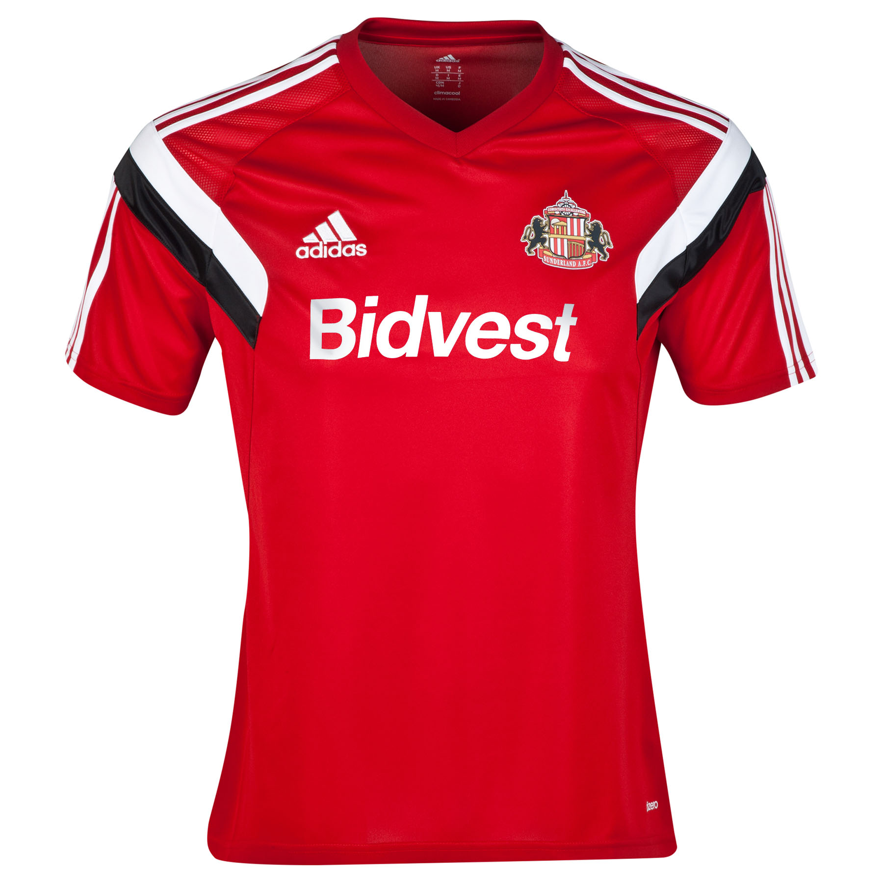 Sunderland Condivo 14 Training Jersey Red
