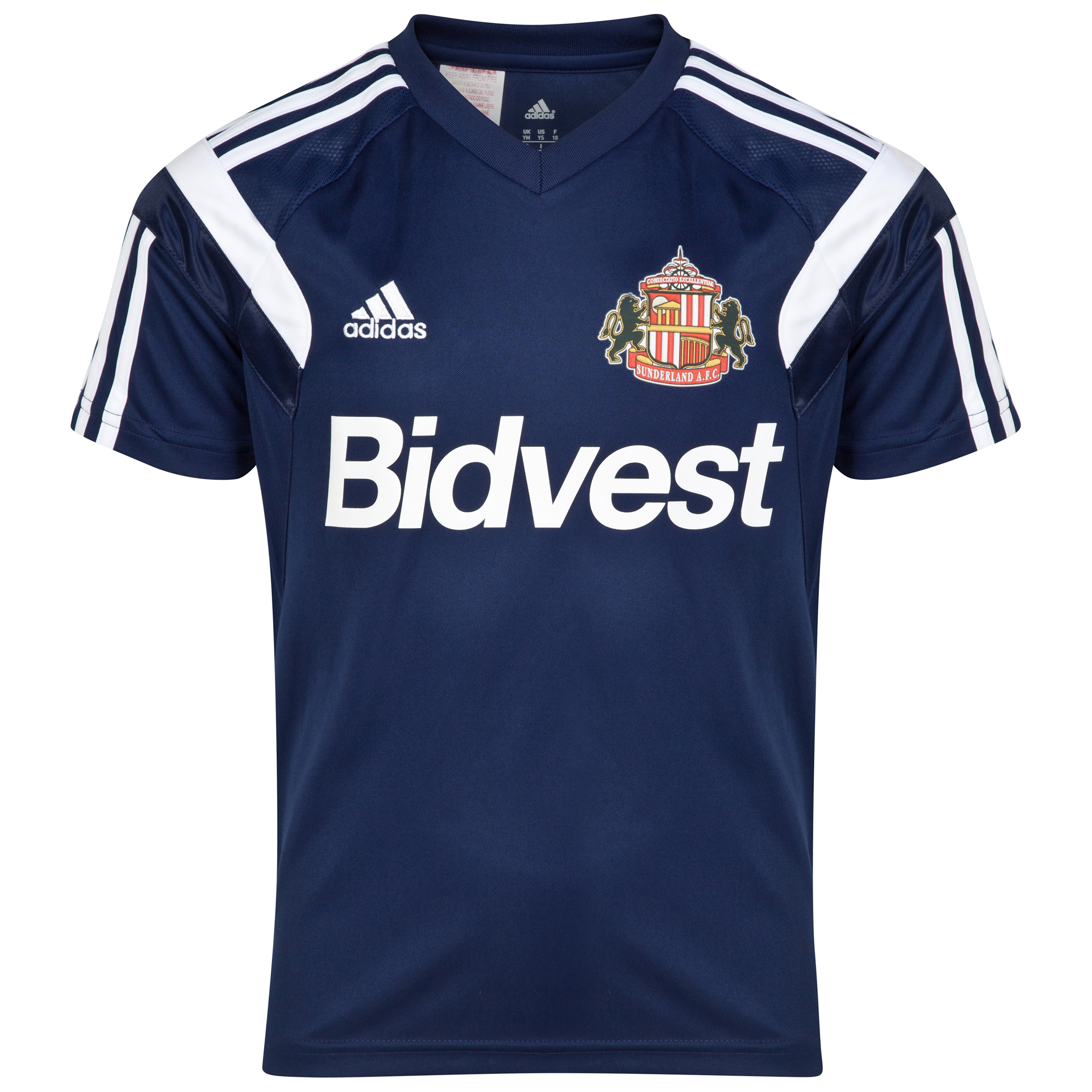 Sunderland Condivo 14 Training Jersey - Junior Navy