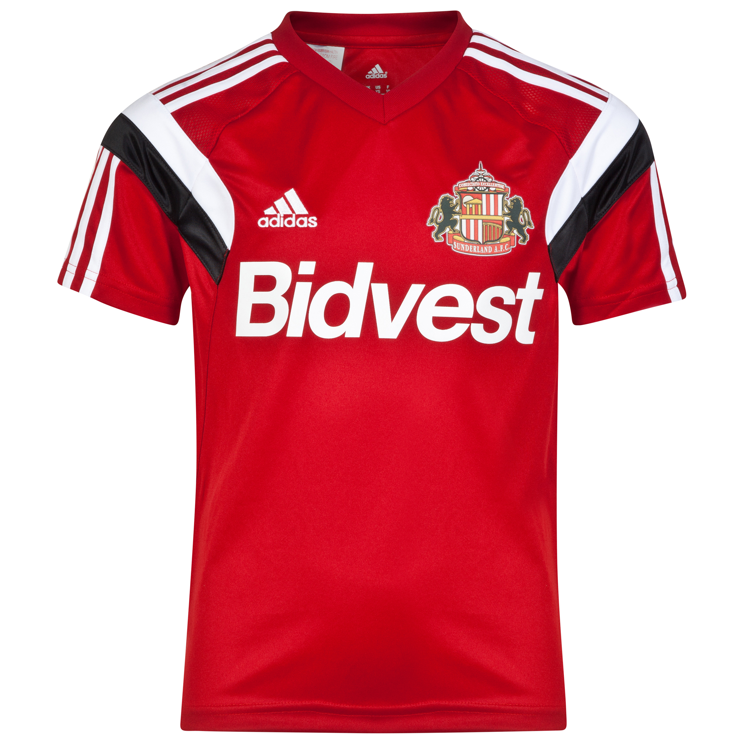 Sunderland Condivo 14 Training Jersey - Junior Red