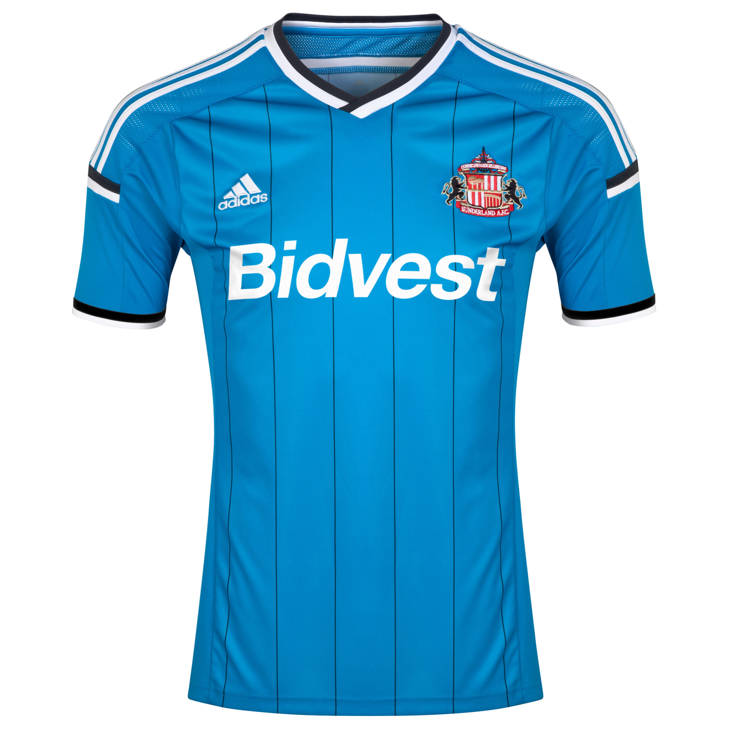 Sunderland Away Shirt 2014/15 - Junior Lt Blue