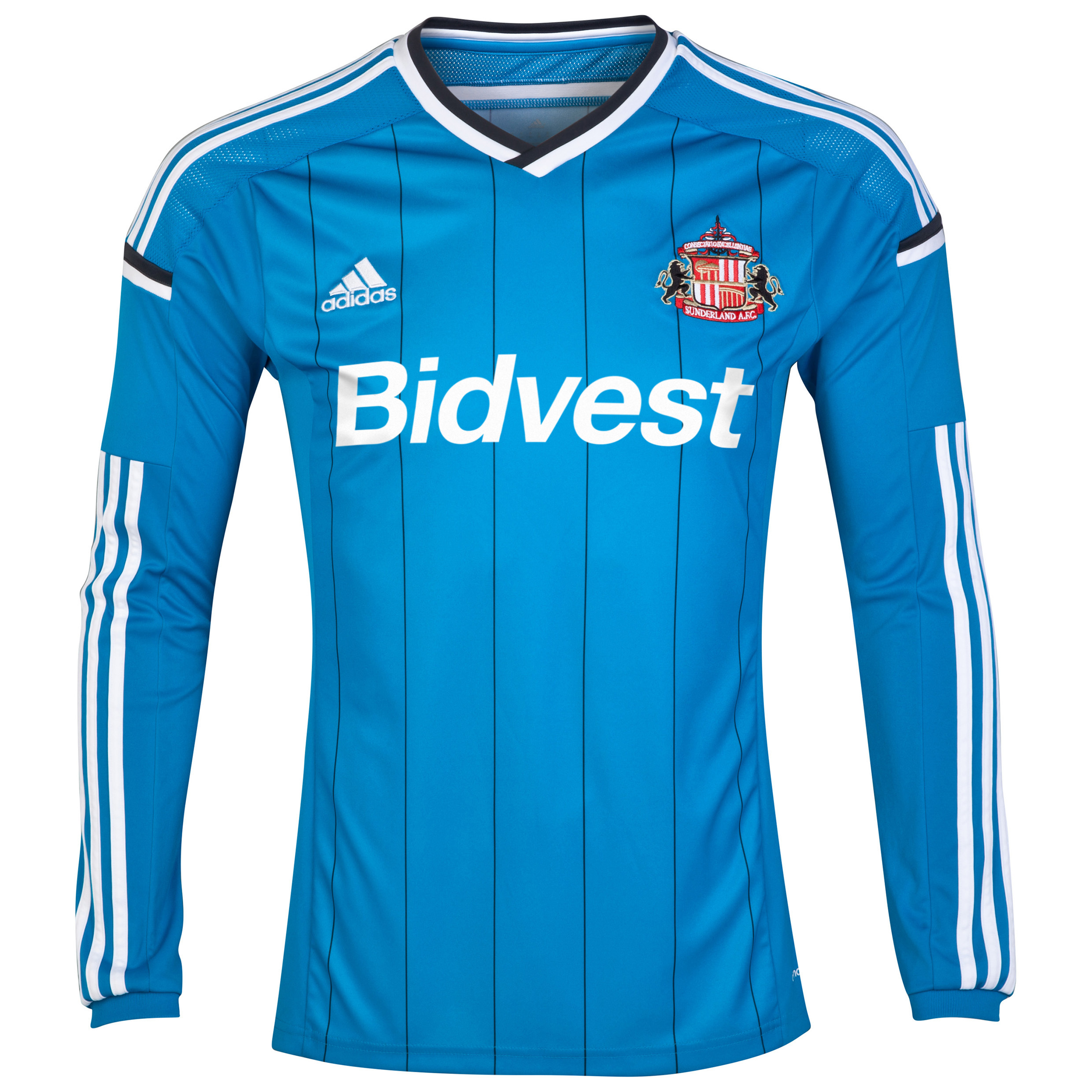 Sunderland Away Shirt 2014/15 - Long Sleeved Lt Blue
