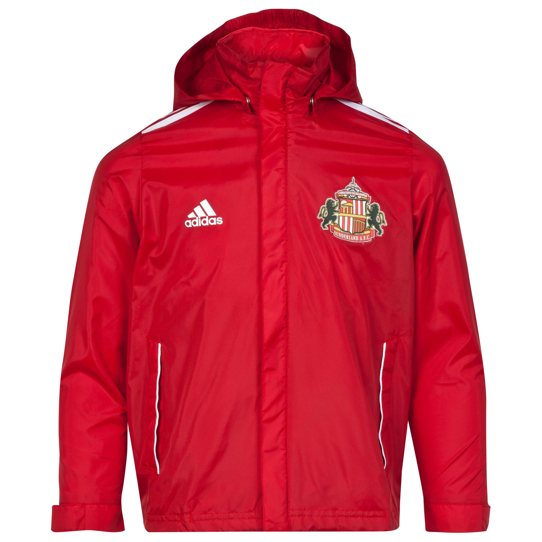 Sunderland Core 11 Rain Jacket - Junior Red