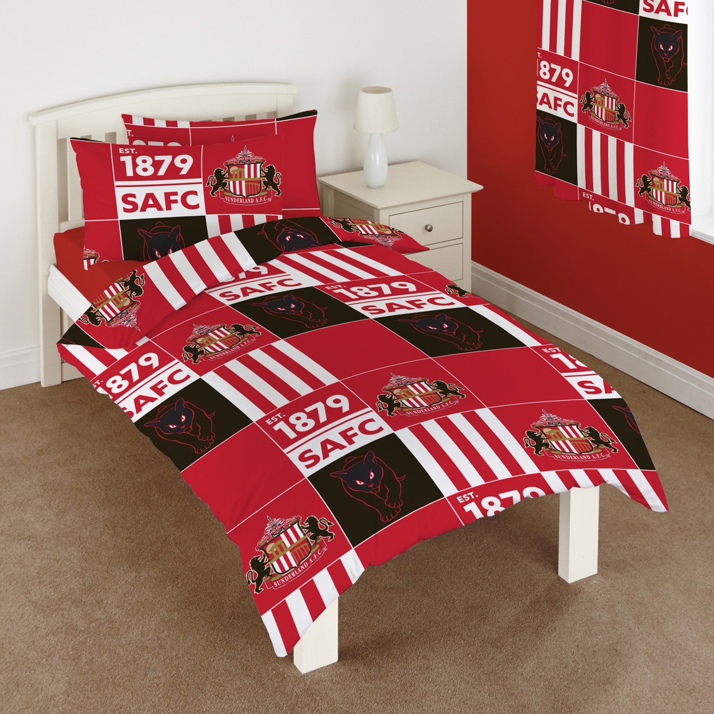 Sunderland Patchwork Single Rotary Duvet Set