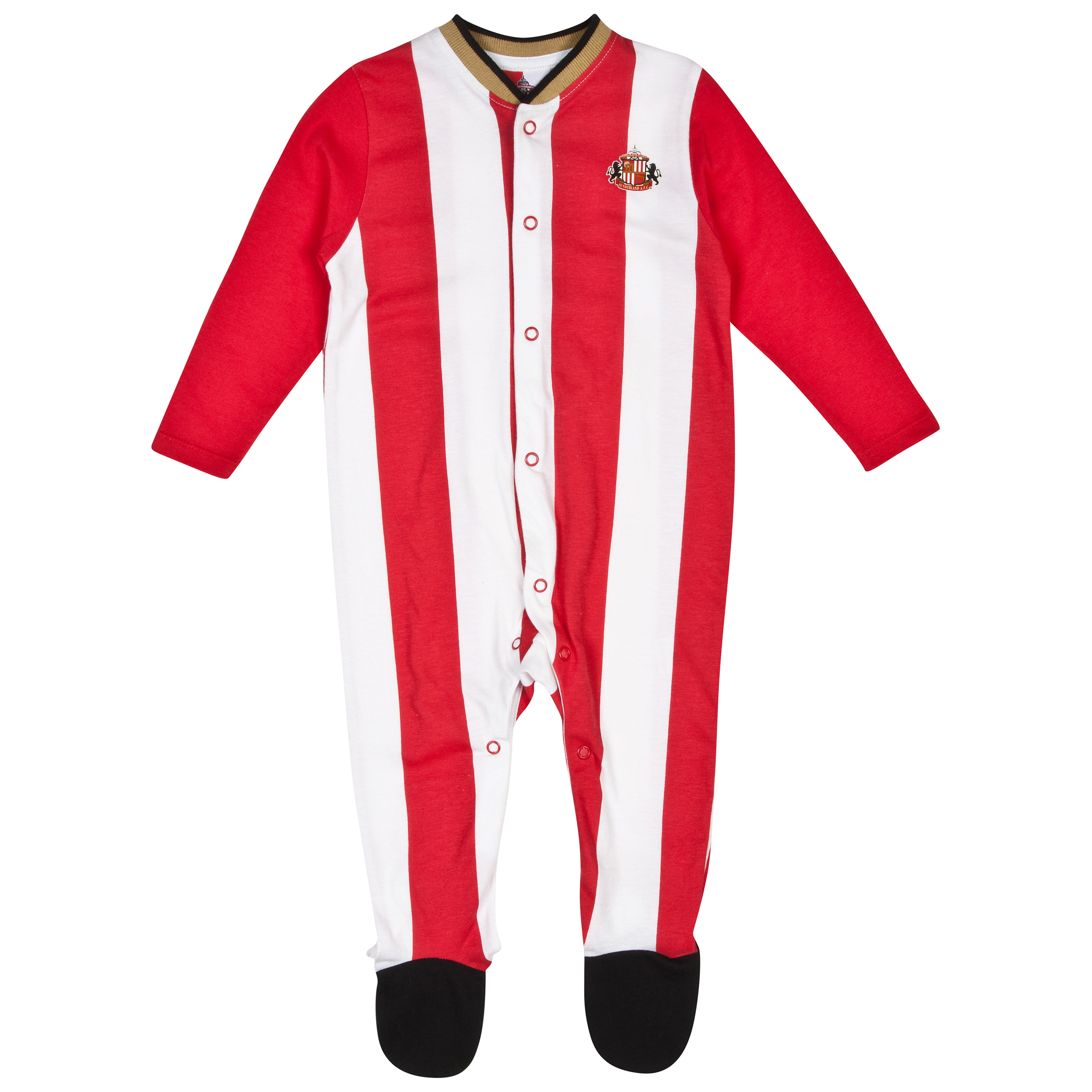 Sunderland 14/15 Kit Sleepsuit - Red/White - Baby