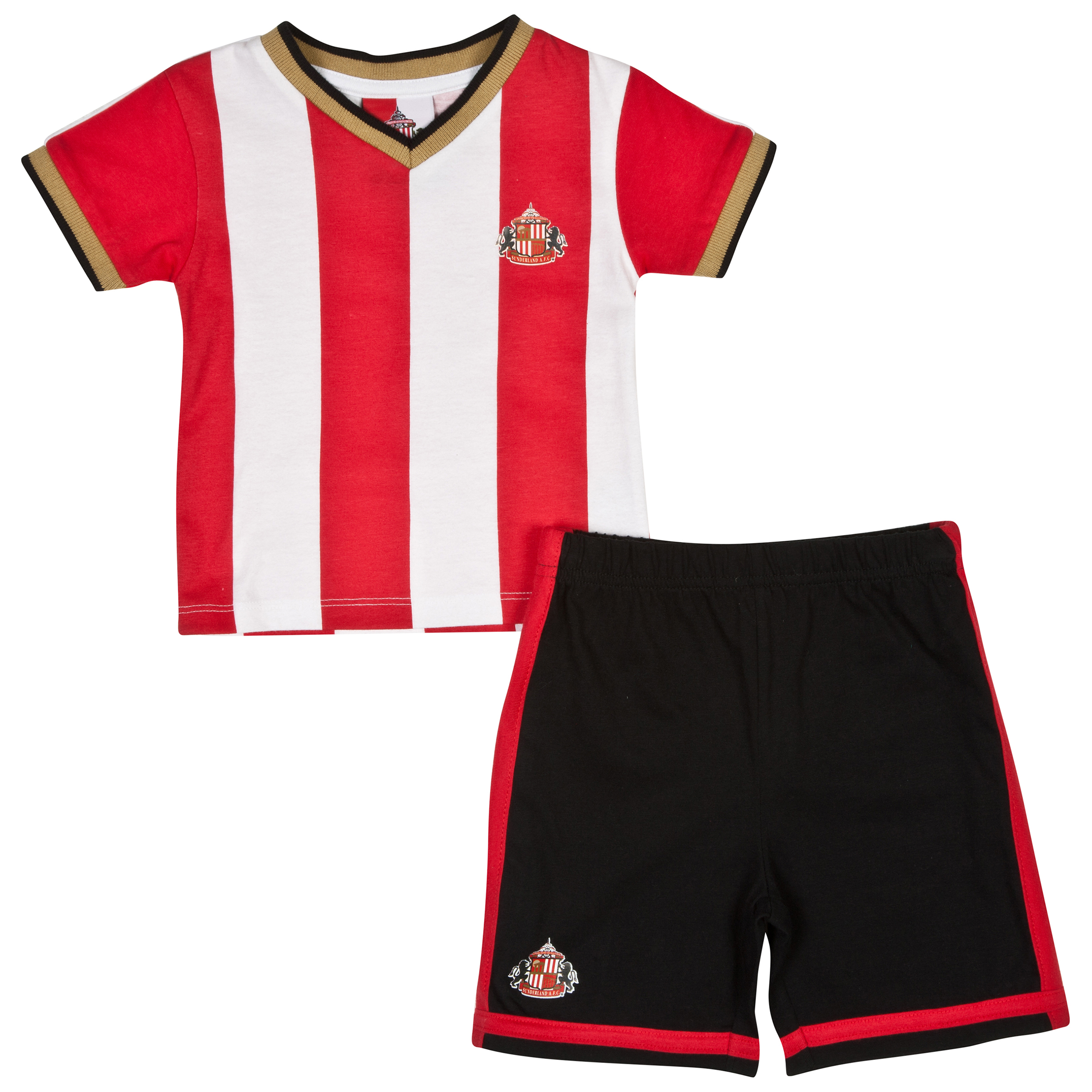 Sunderland 14/15 Kit Pyjamas - Red/White/Black - Baby