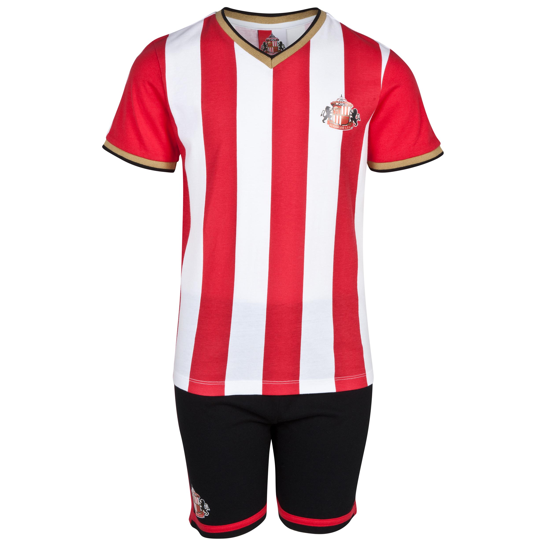 Sunderland 14/15 Kit Pyjamas - Red/White/Black - Boys