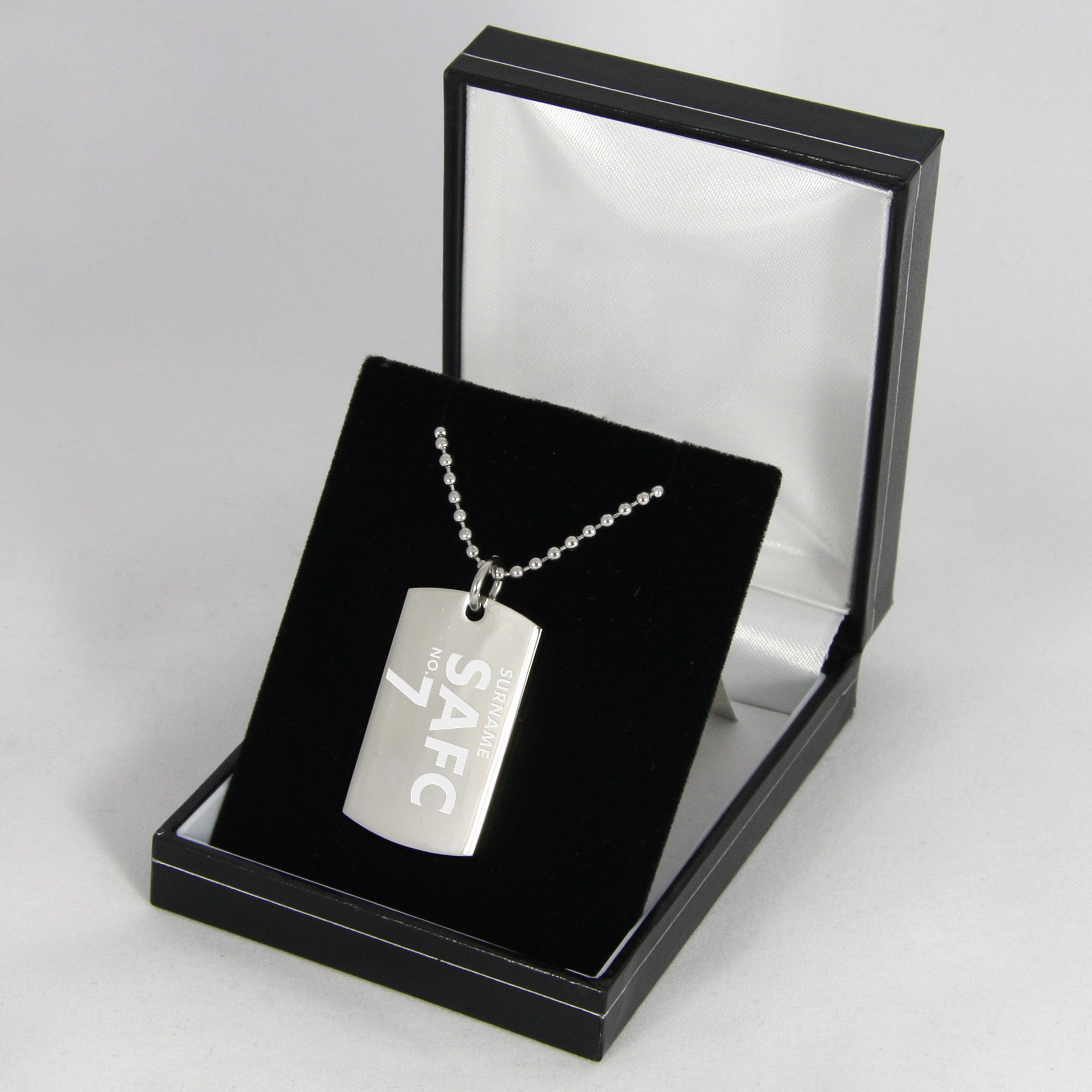 Sunderland Personalised Dog Tag Pendant