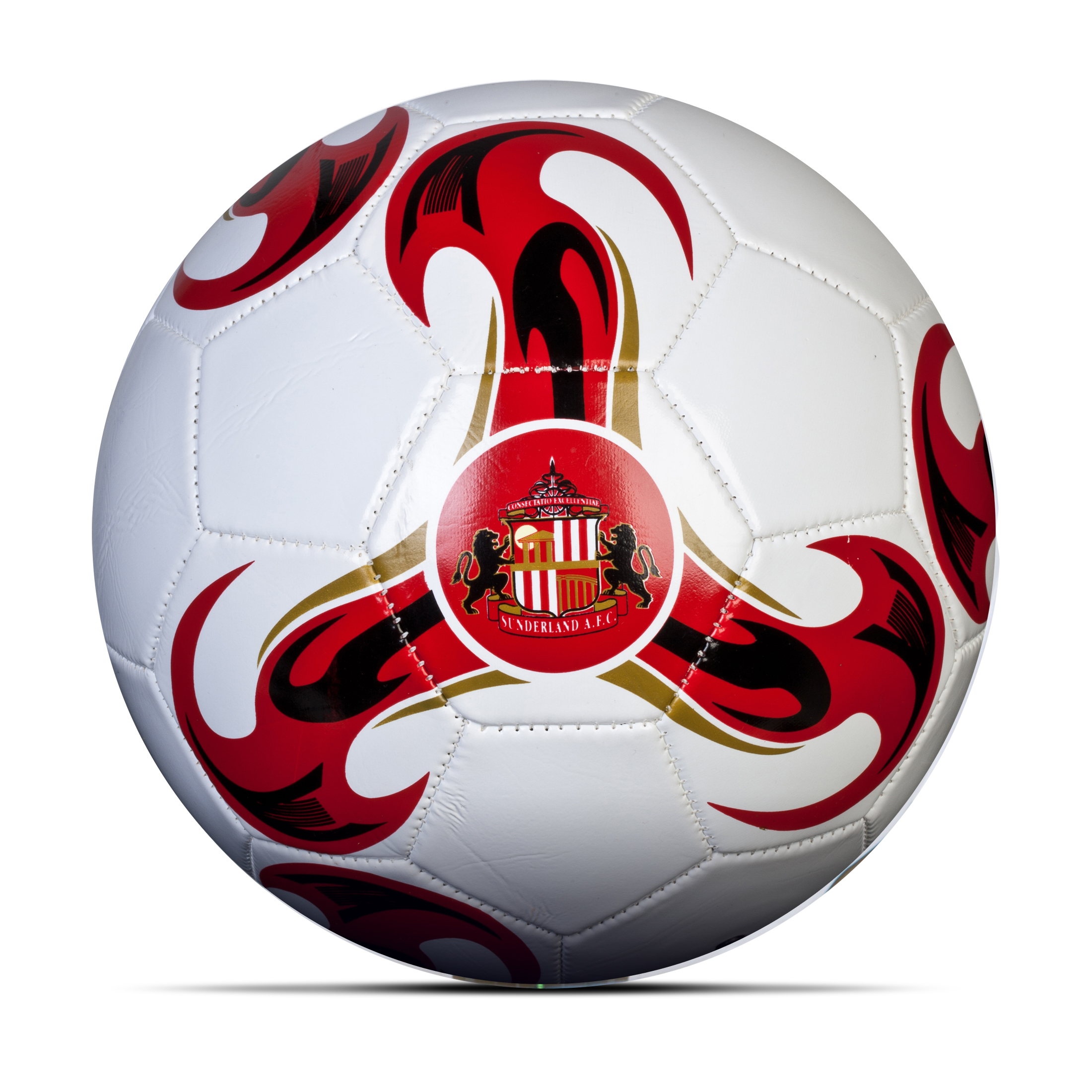 Sunderland Football - Size 5 - White/Red