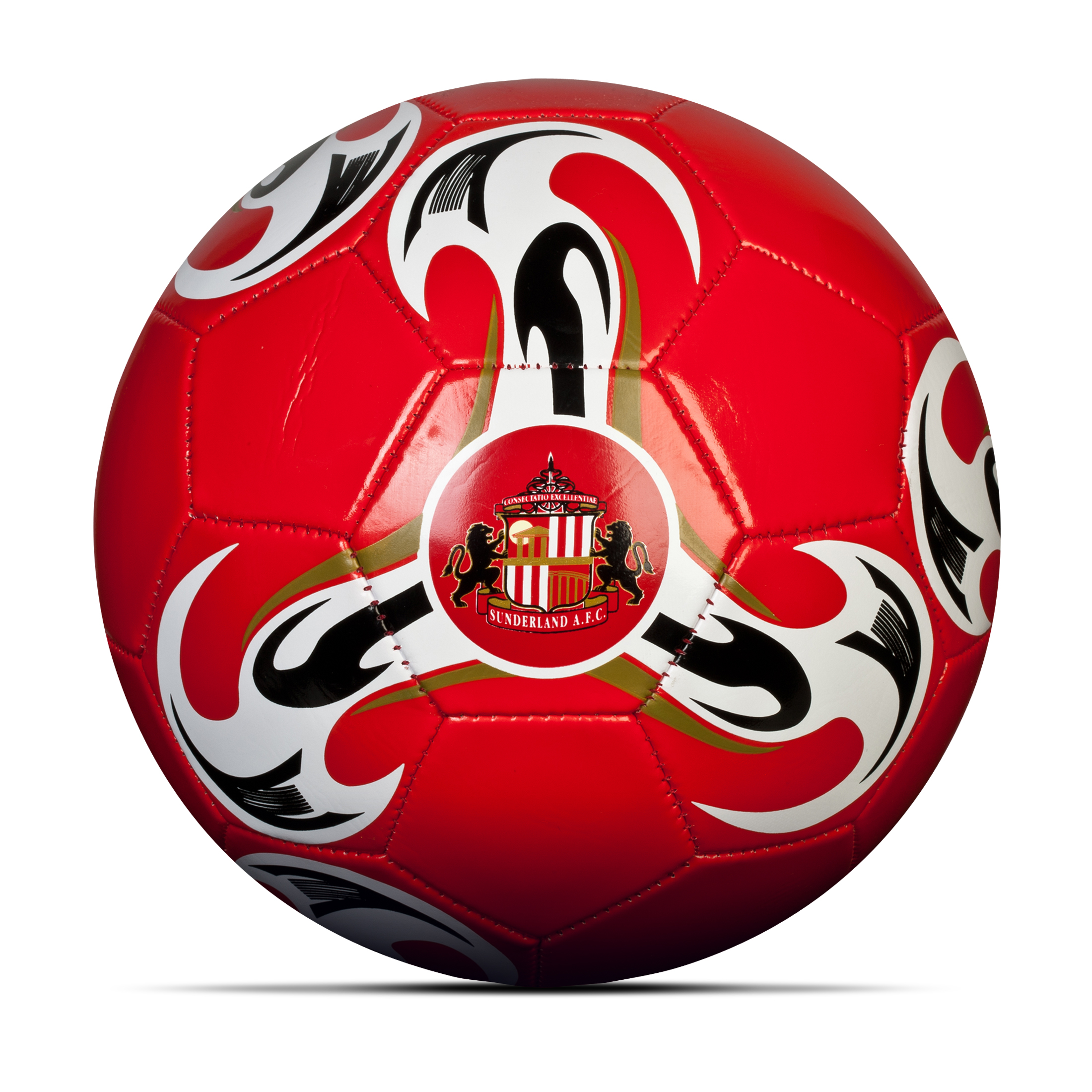Sunderland Football - Size 5 - Red/White