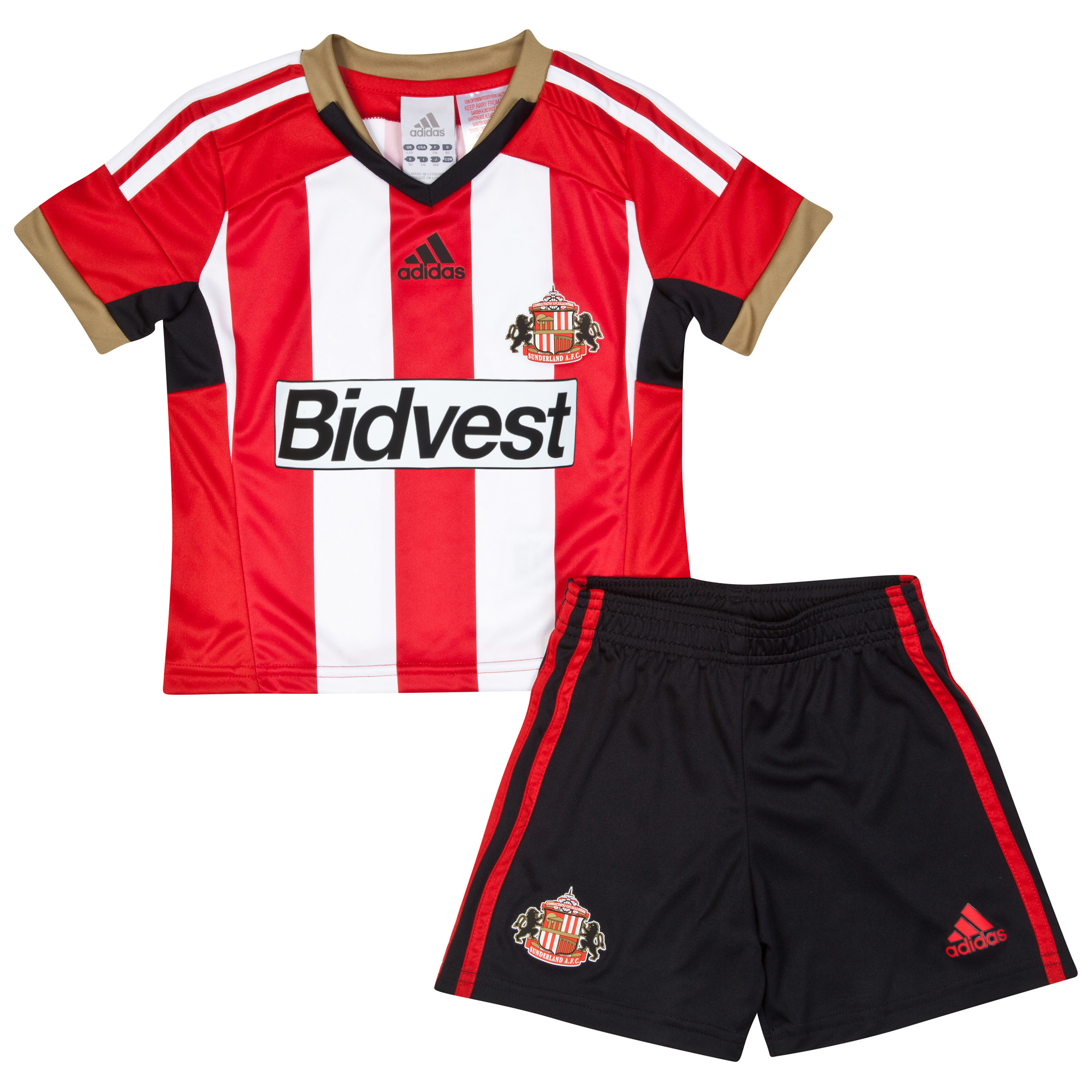 Sunderland Mini Kit 2014/15 Red