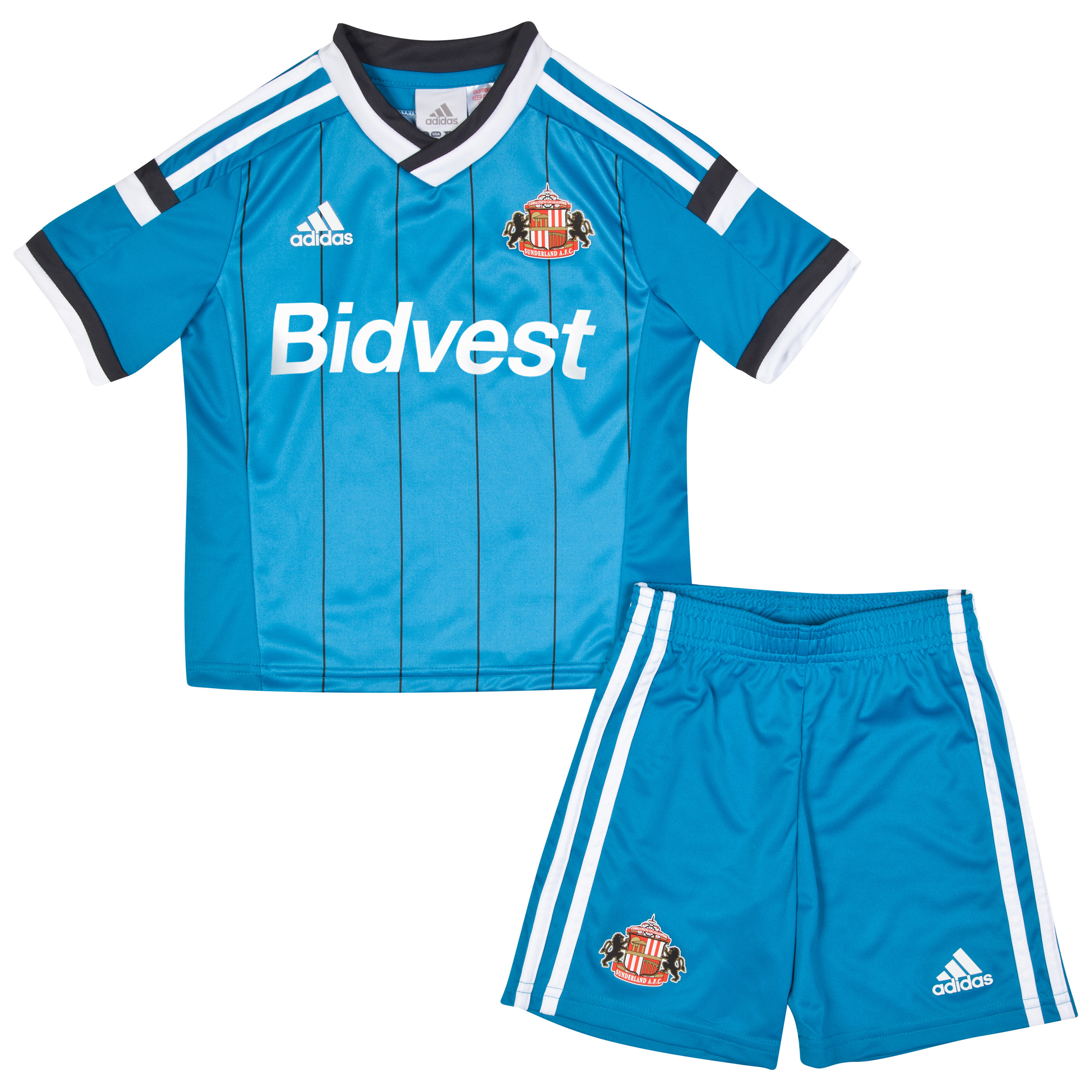 Sunderland Away Mini Kit 2014/15 Lt Blue