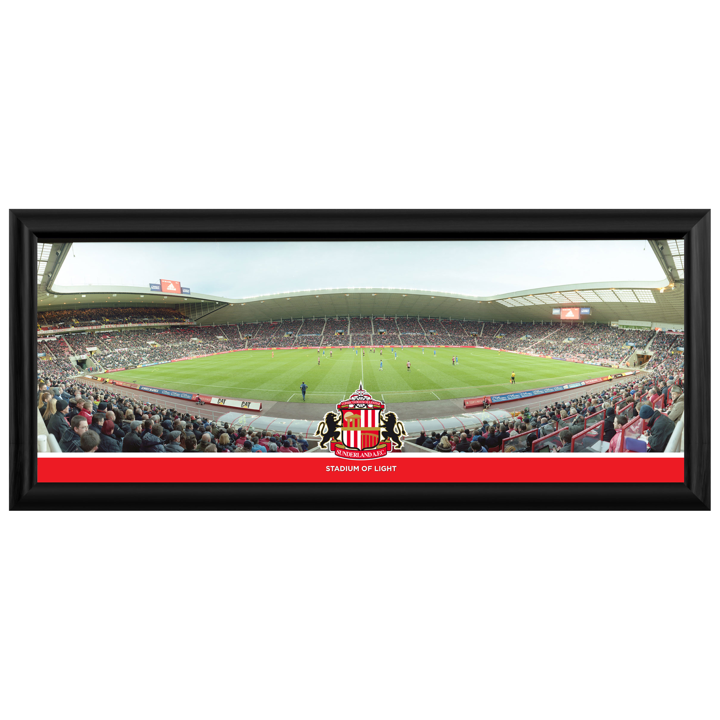 Sunderland Full Stadium Stripe Panoramic 30 Inch