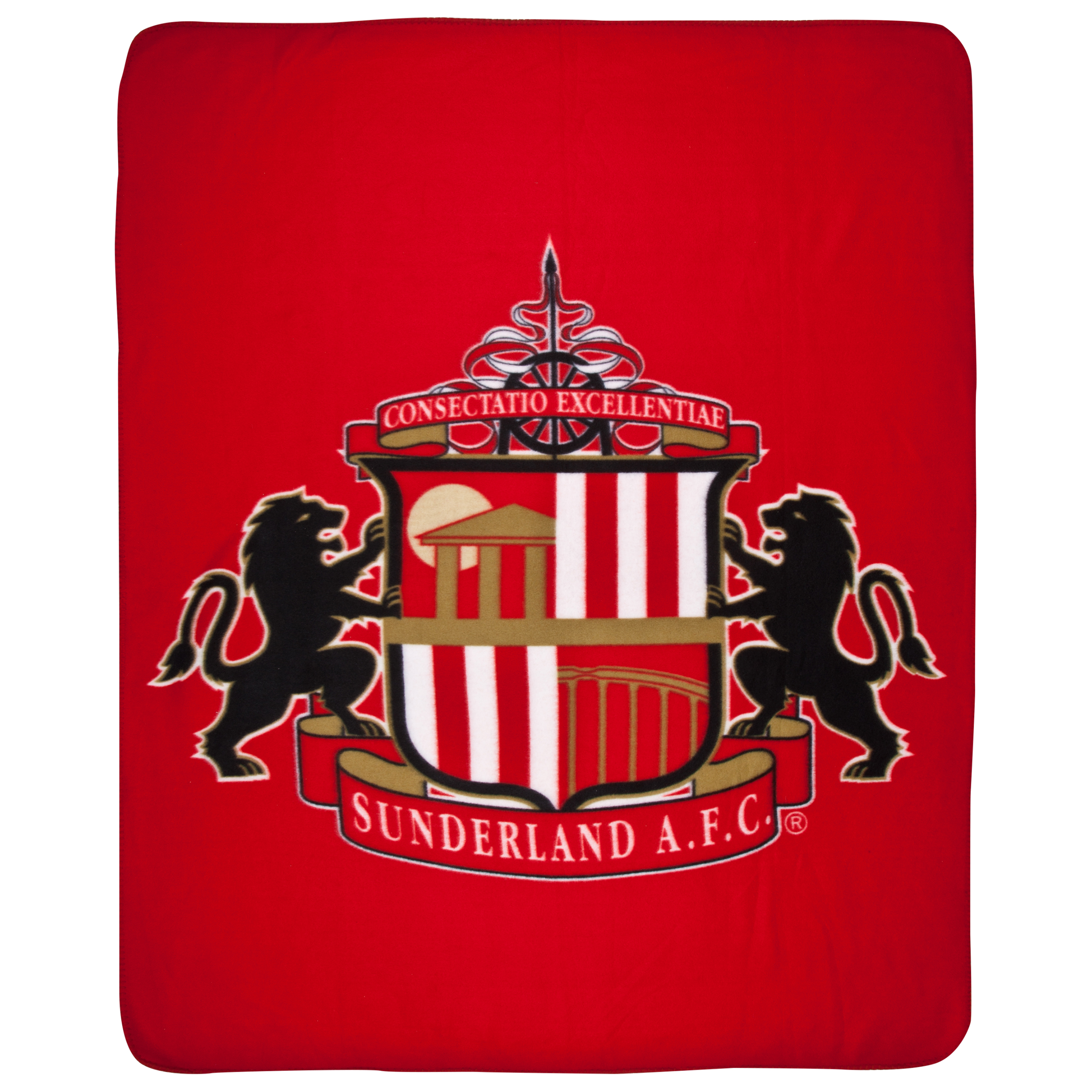 Sunderland Crest Fleece Throw