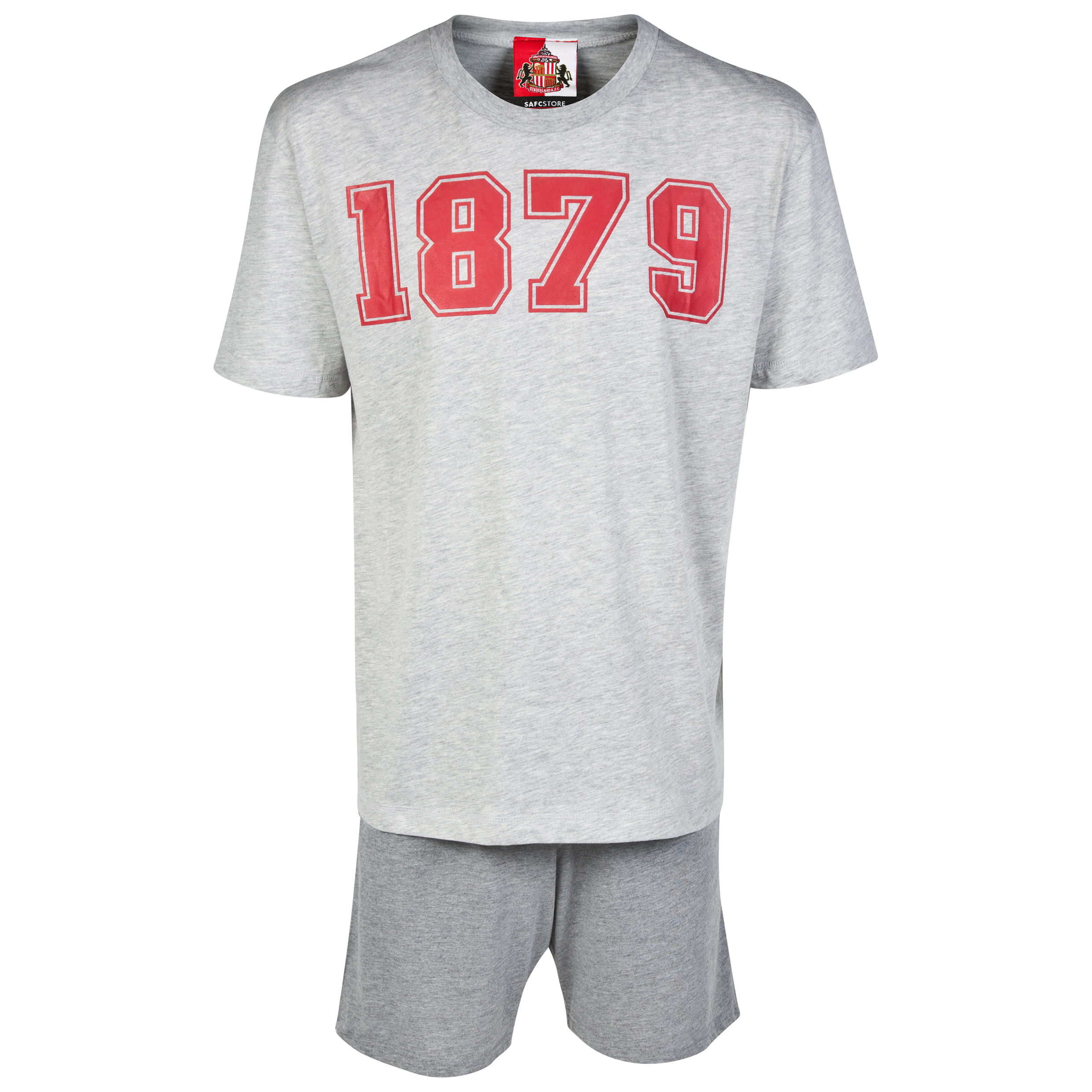 Sunderland Short Pyjamas - Grey - Mens