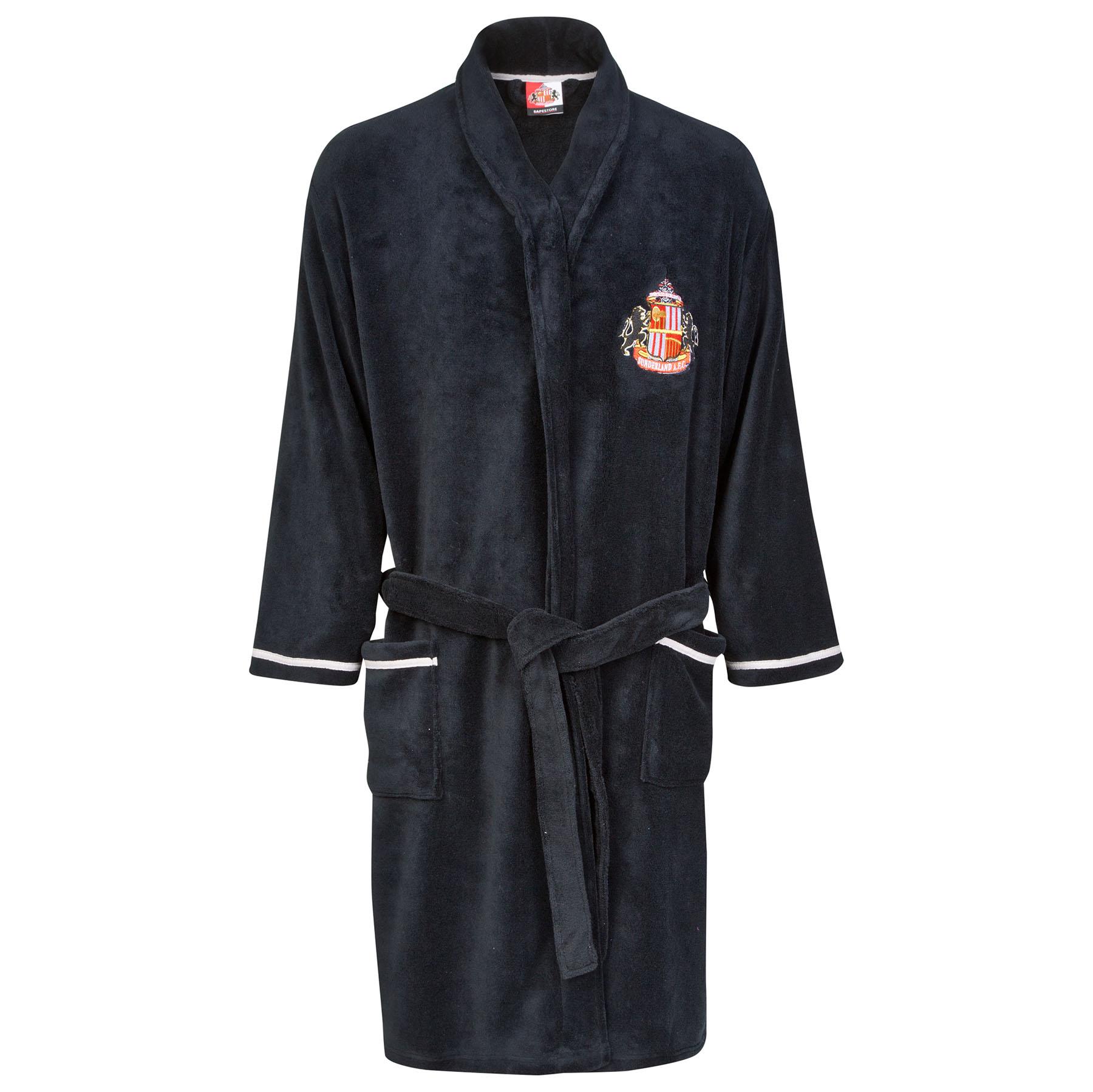 Sunderland Robe - Black- Mens