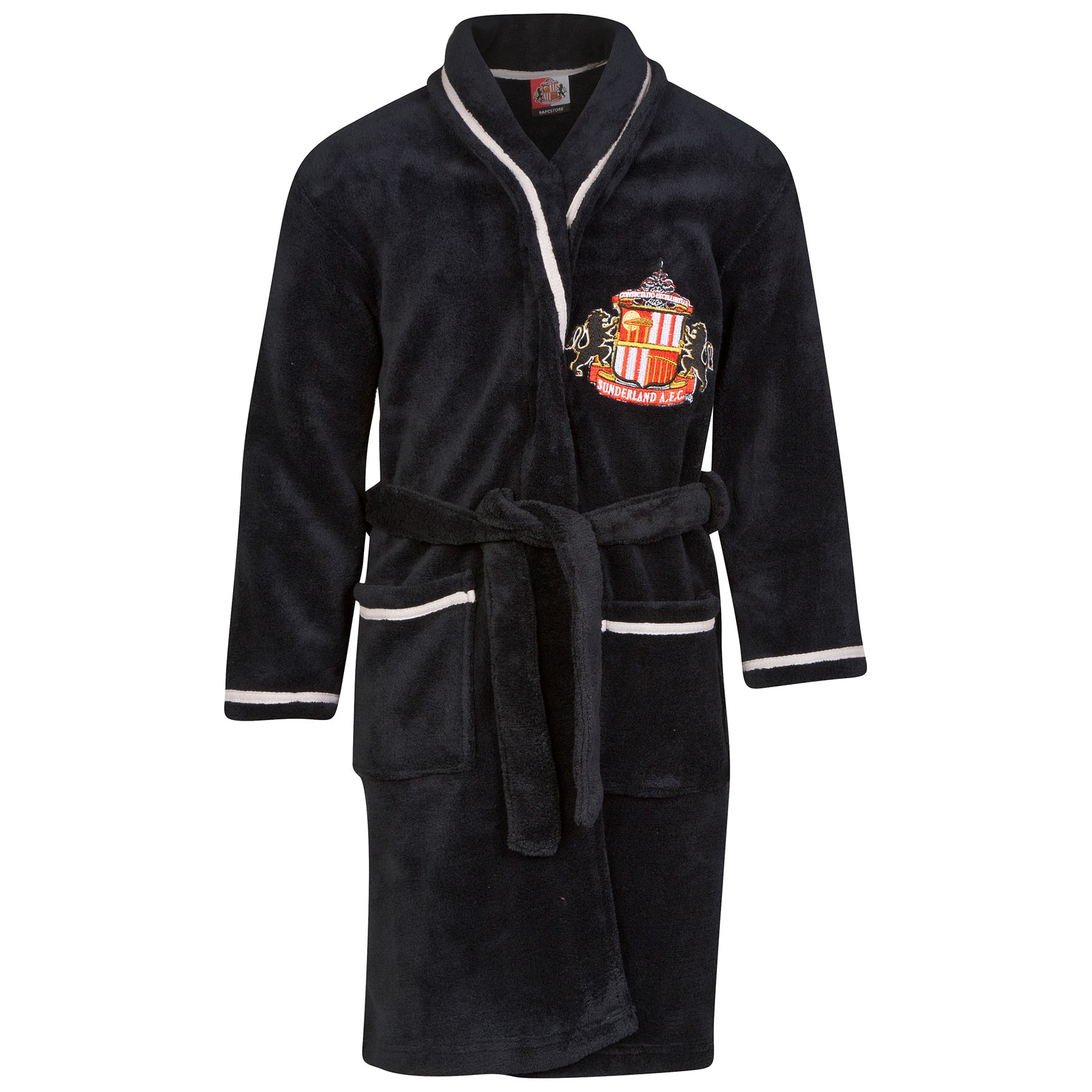 Sunderland Robe - Black - Boys