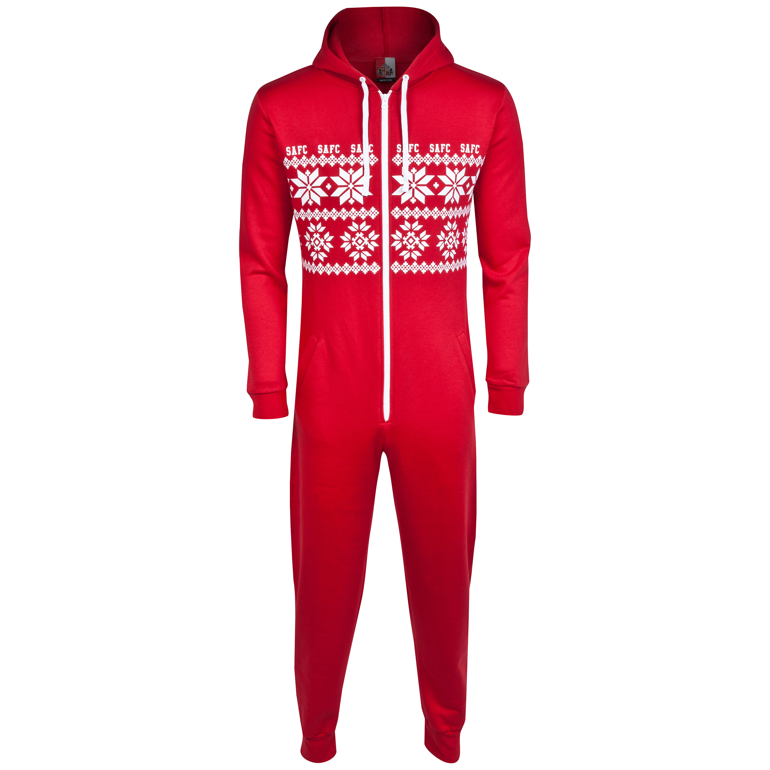 Sunderland Onesie- -Red - Adult