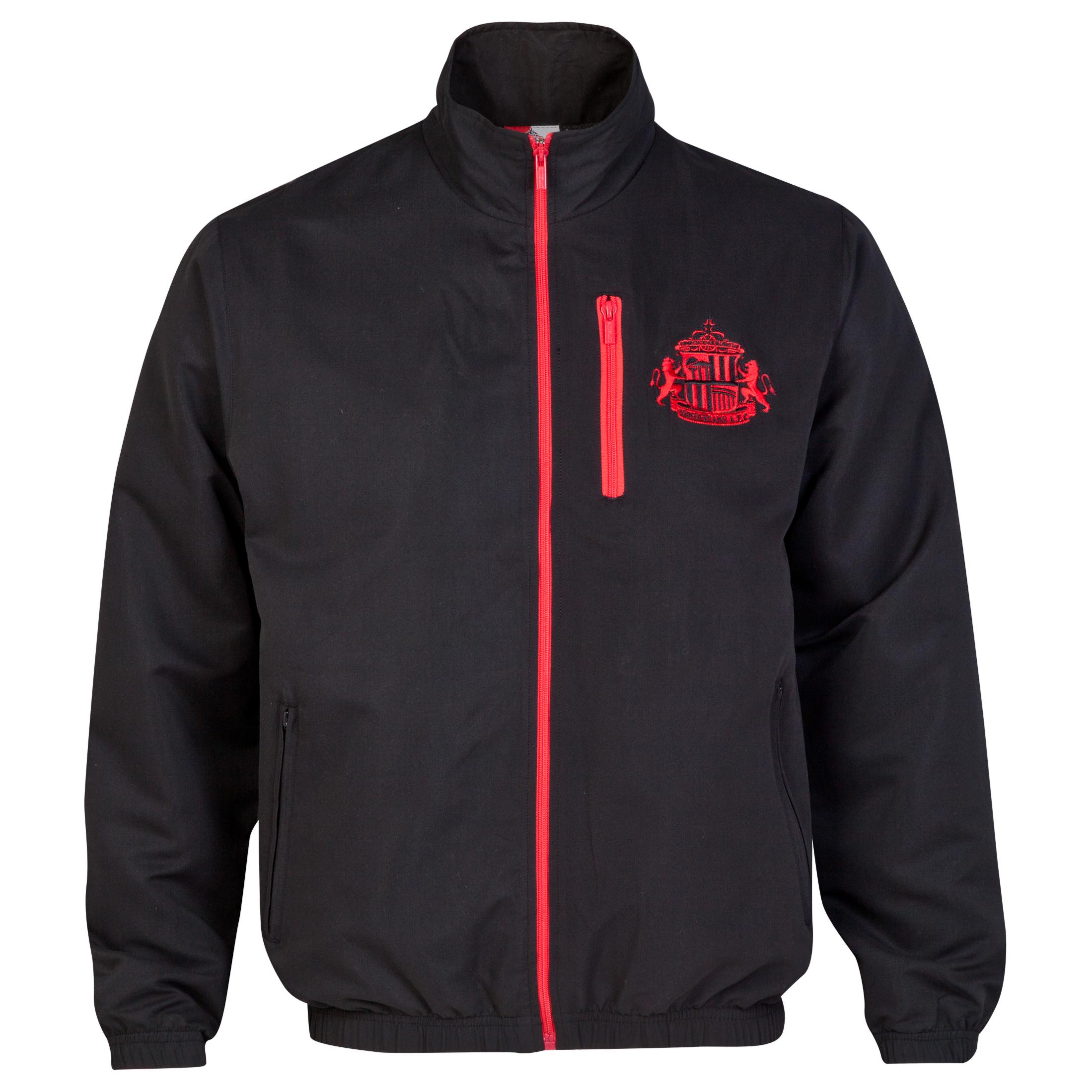 Sunderland Essential Track Jacket - Black - Older Boys