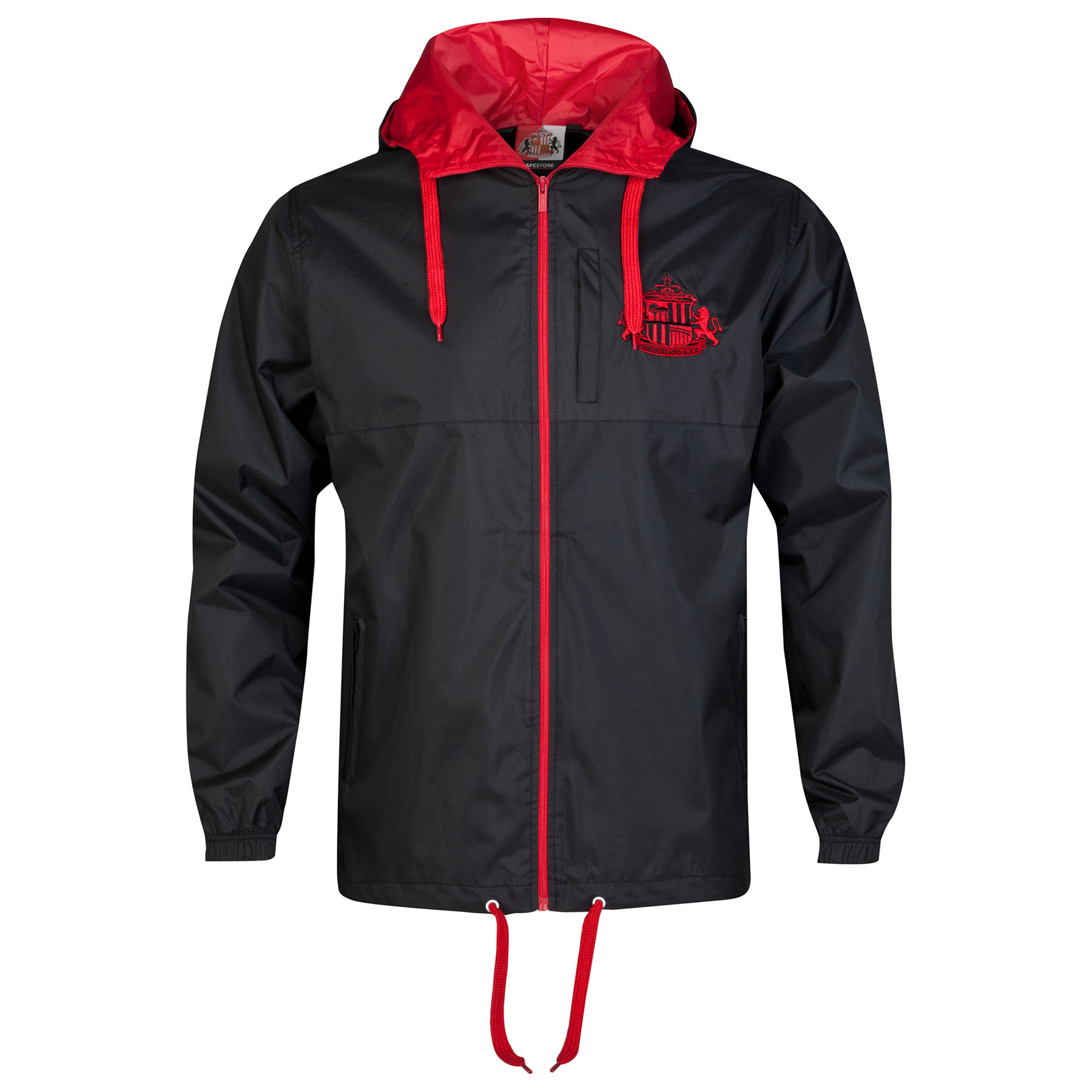 Sunderland Essential Shower Jacket - Black - Mens