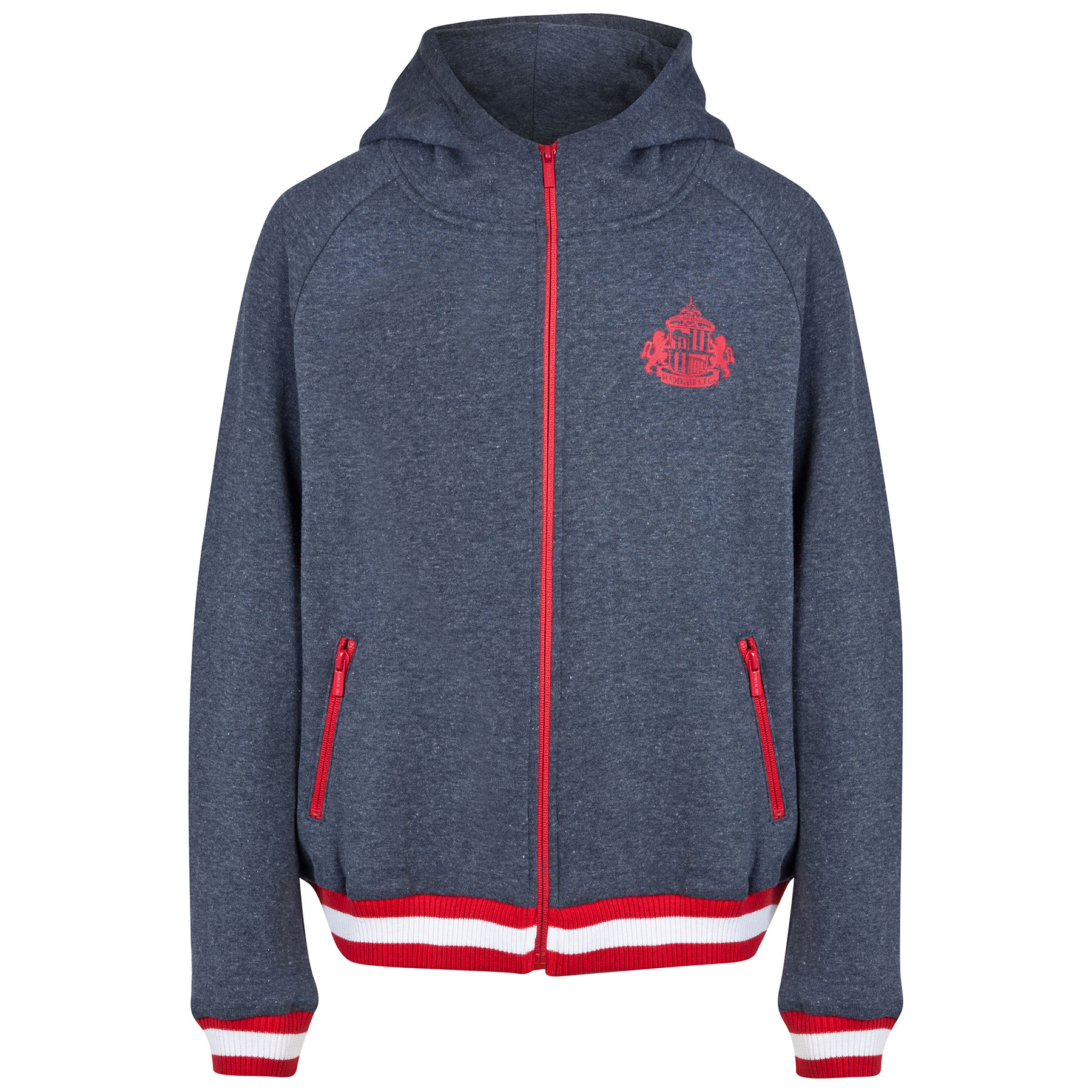 Sunderland Essential Hoodie - Heather Navy - Older Boys
