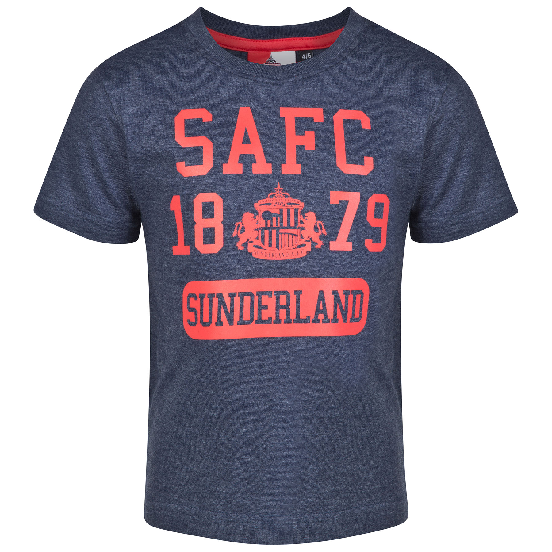 Sunderland Essential T-Shirt - Heather Navy -Infant Boys