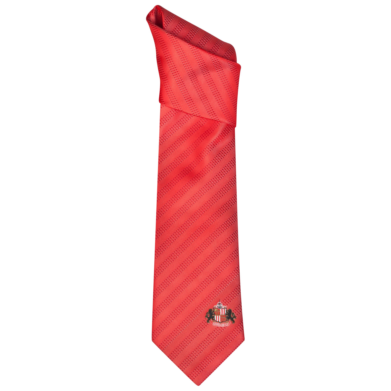 Sunderland Red Tie Red