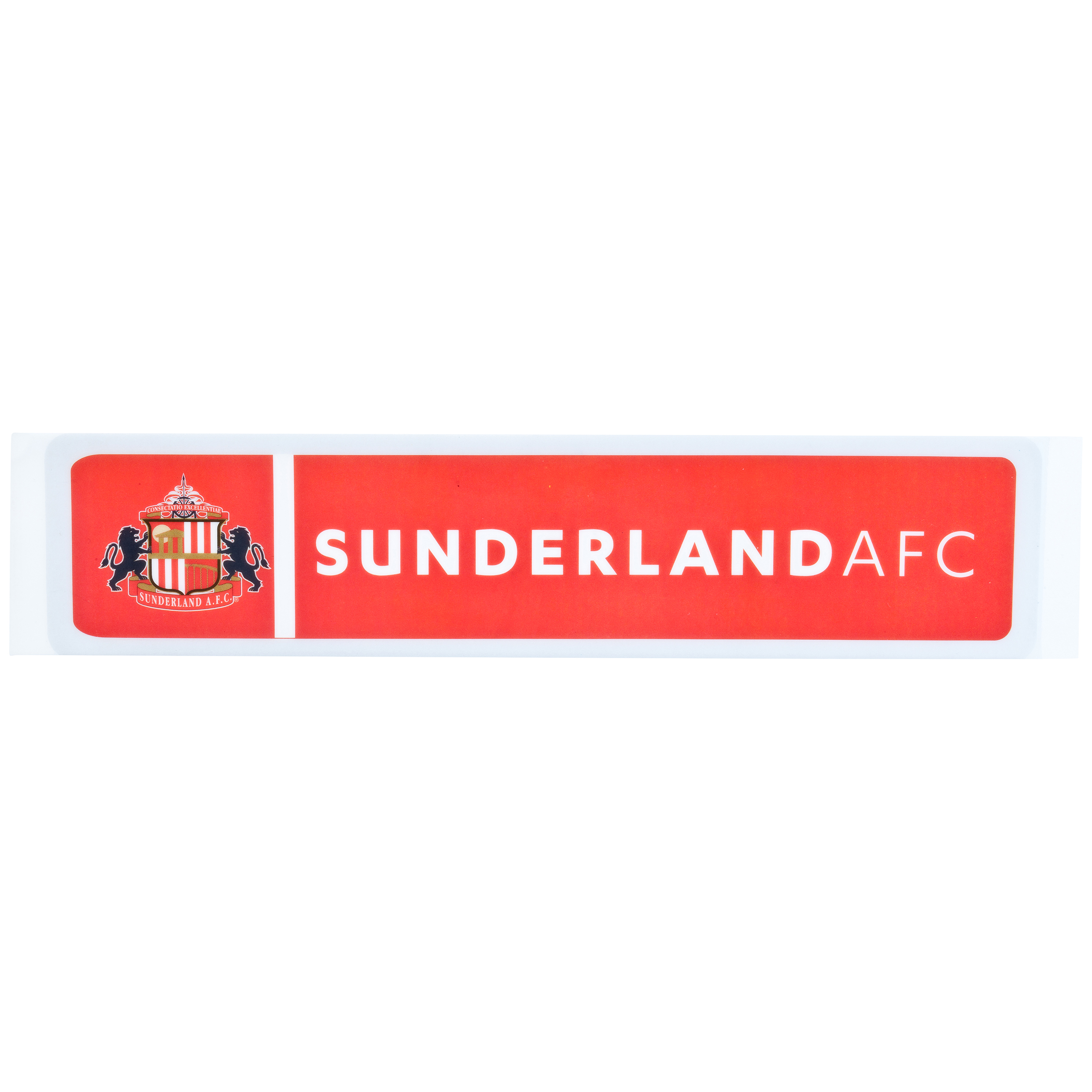 Sunderland Striker Rectangle Car Sticker